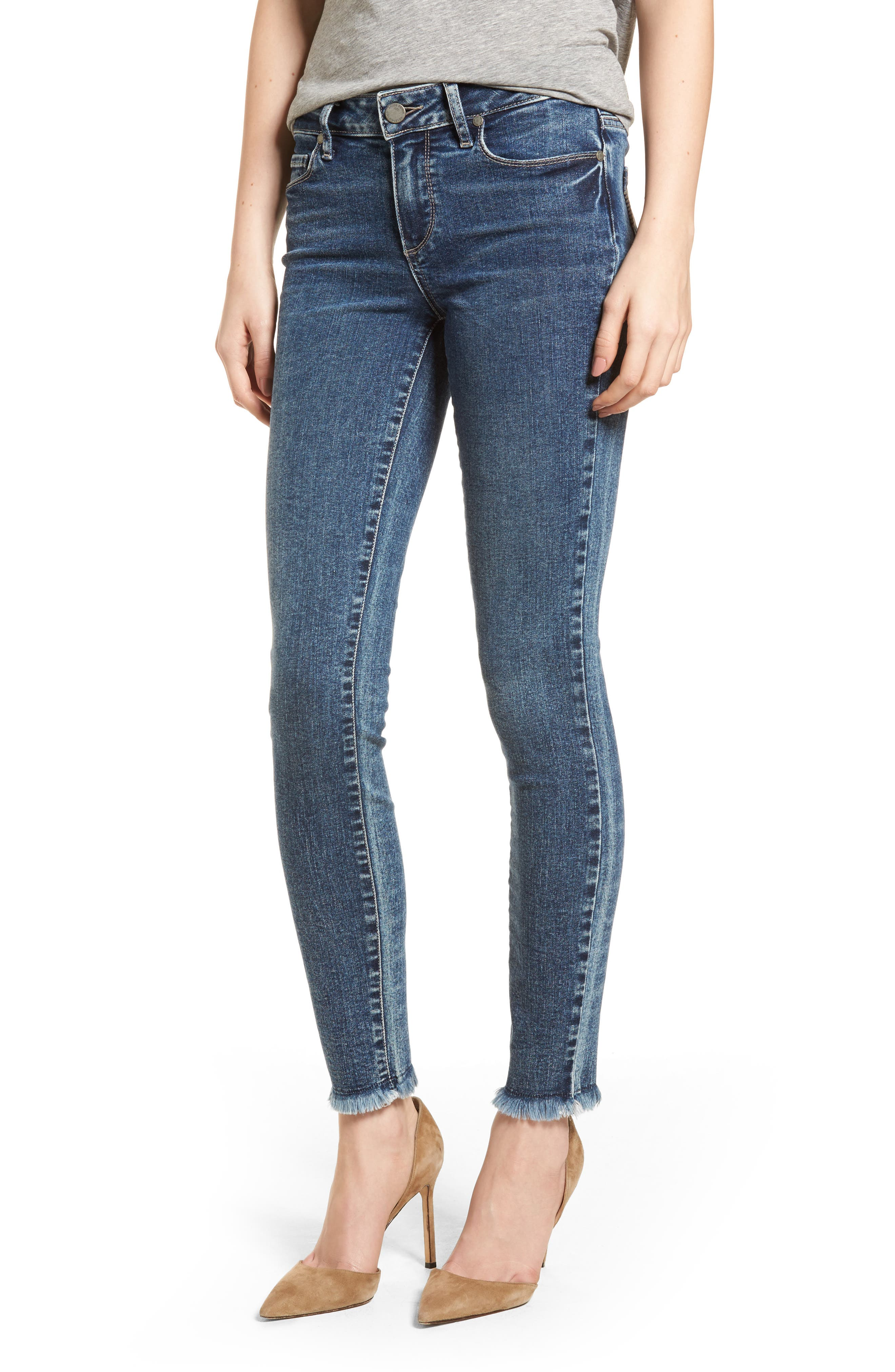 Transcend Vintage - Verdugo Ultra Skinny Jeans,                             Main thumbnail 1, color,                             Iness