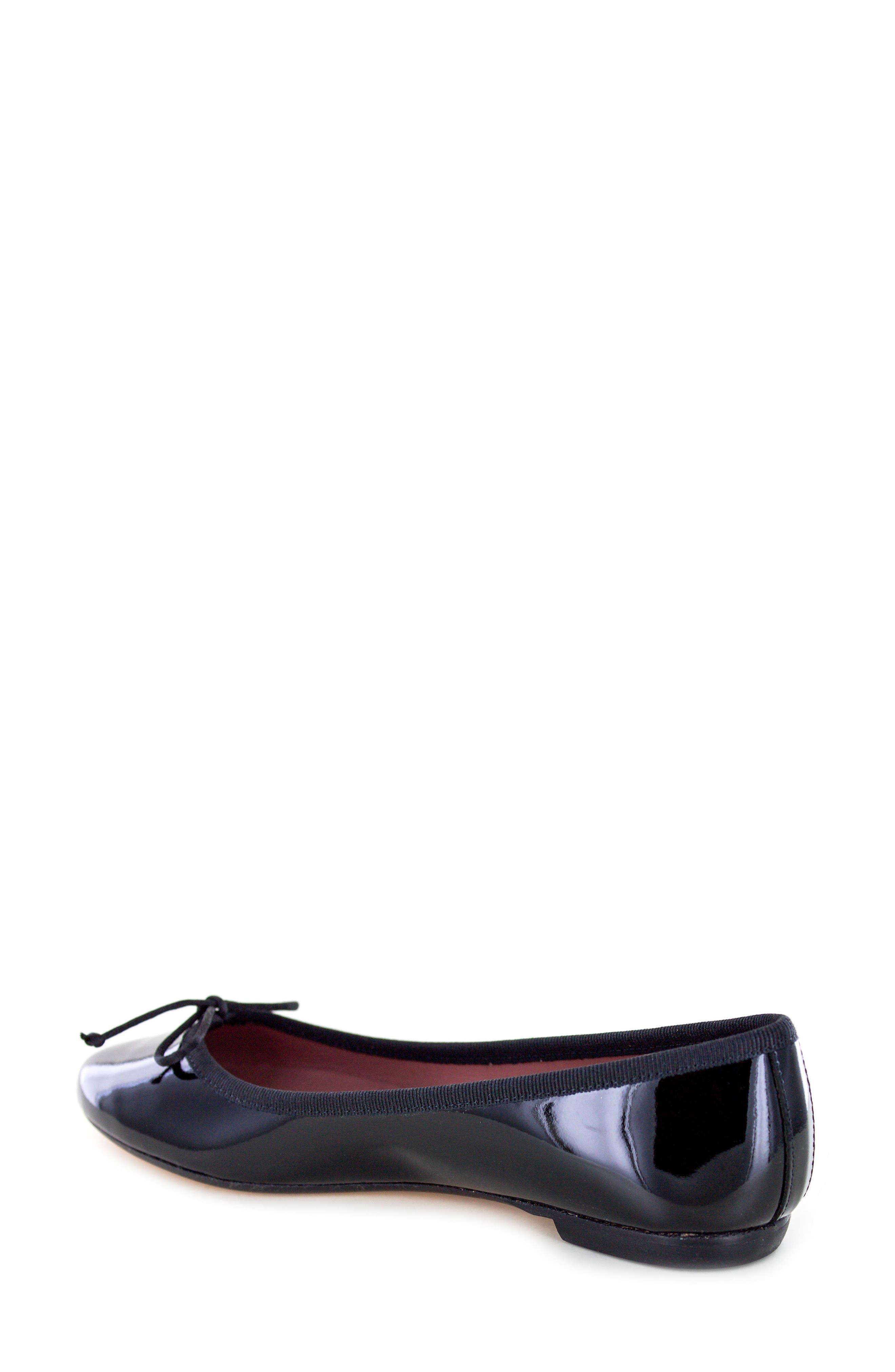 Kendrick Flat,                             Alternate thumbnail 2, color,                             Black Patent Leather