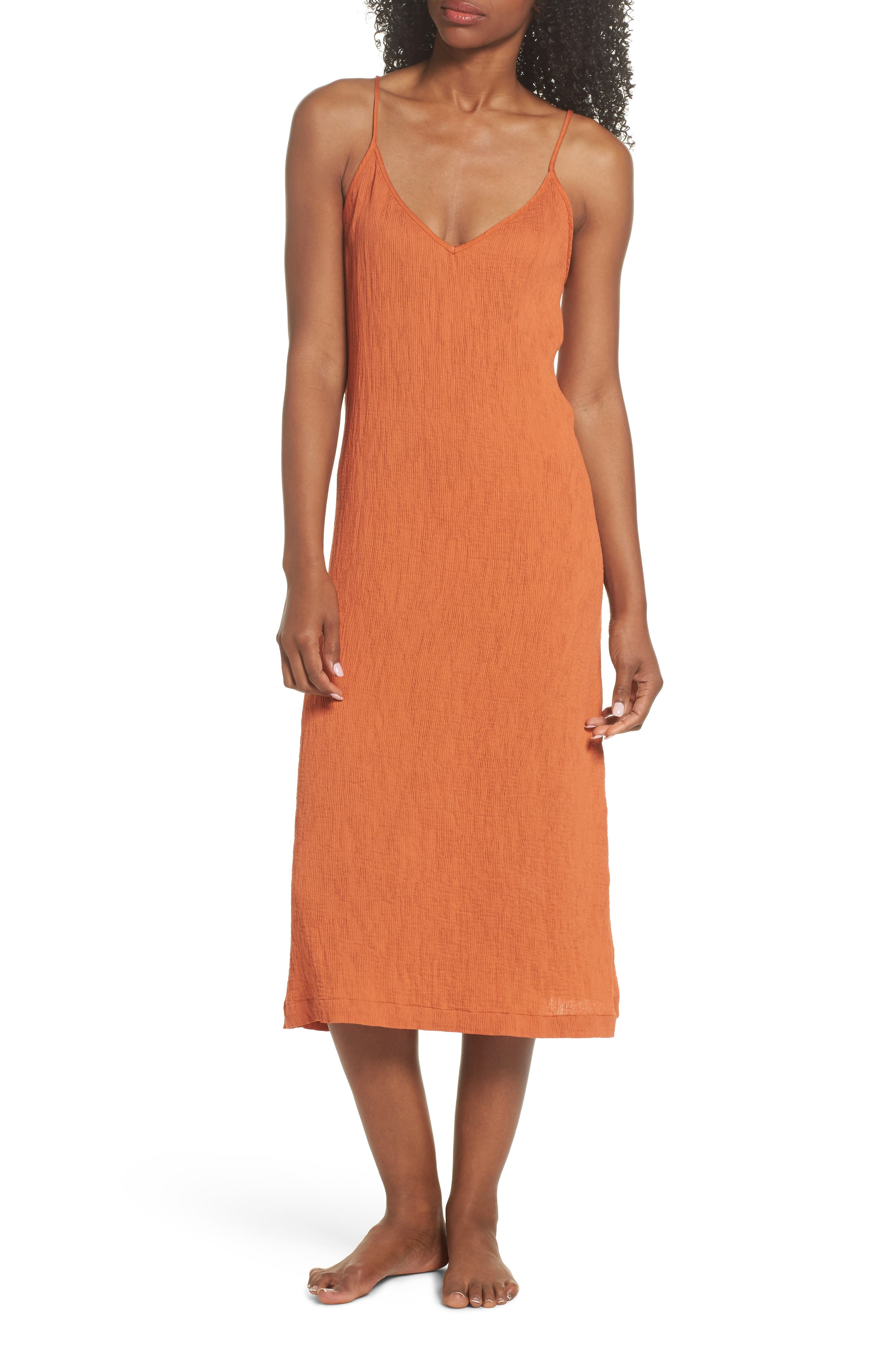 Spice Nightgown,                             Main thumbnail 1, color,                             Cayenne
