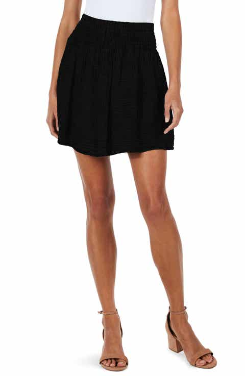 Michael Stars Smocked Waist Skirt