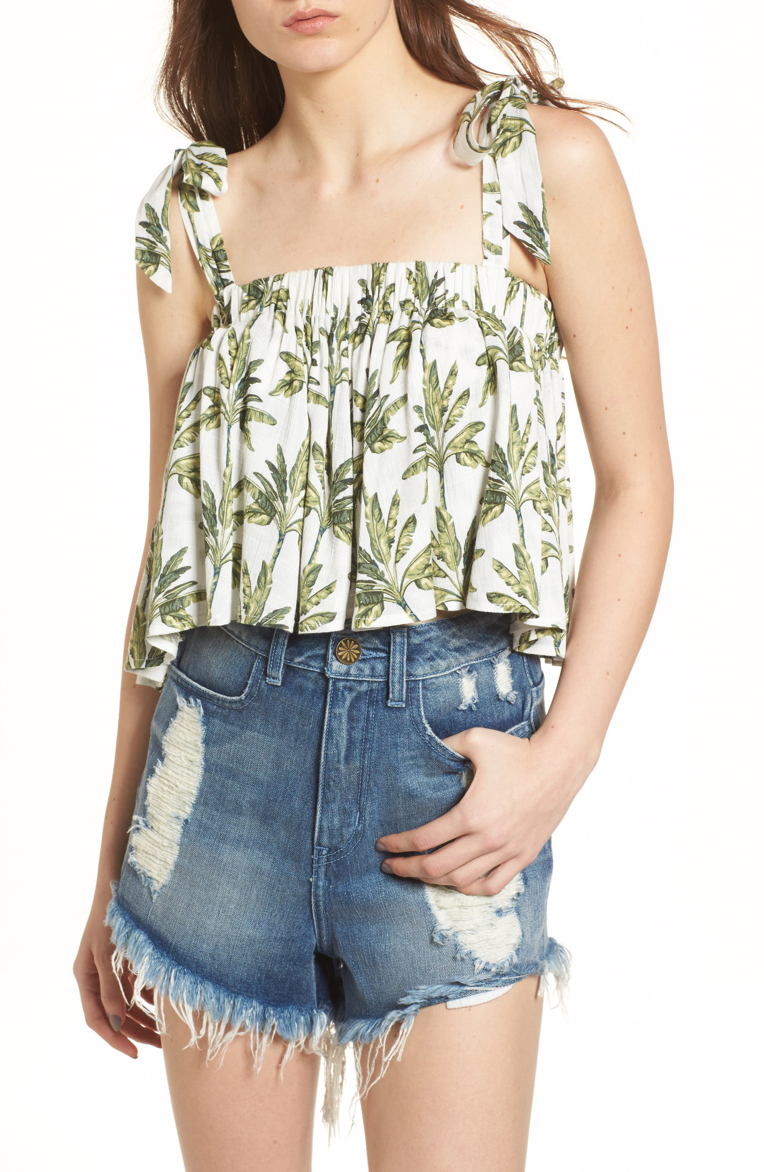 Poppy Swing Tank,                         Main,                         color, Walk The Palm Cruise