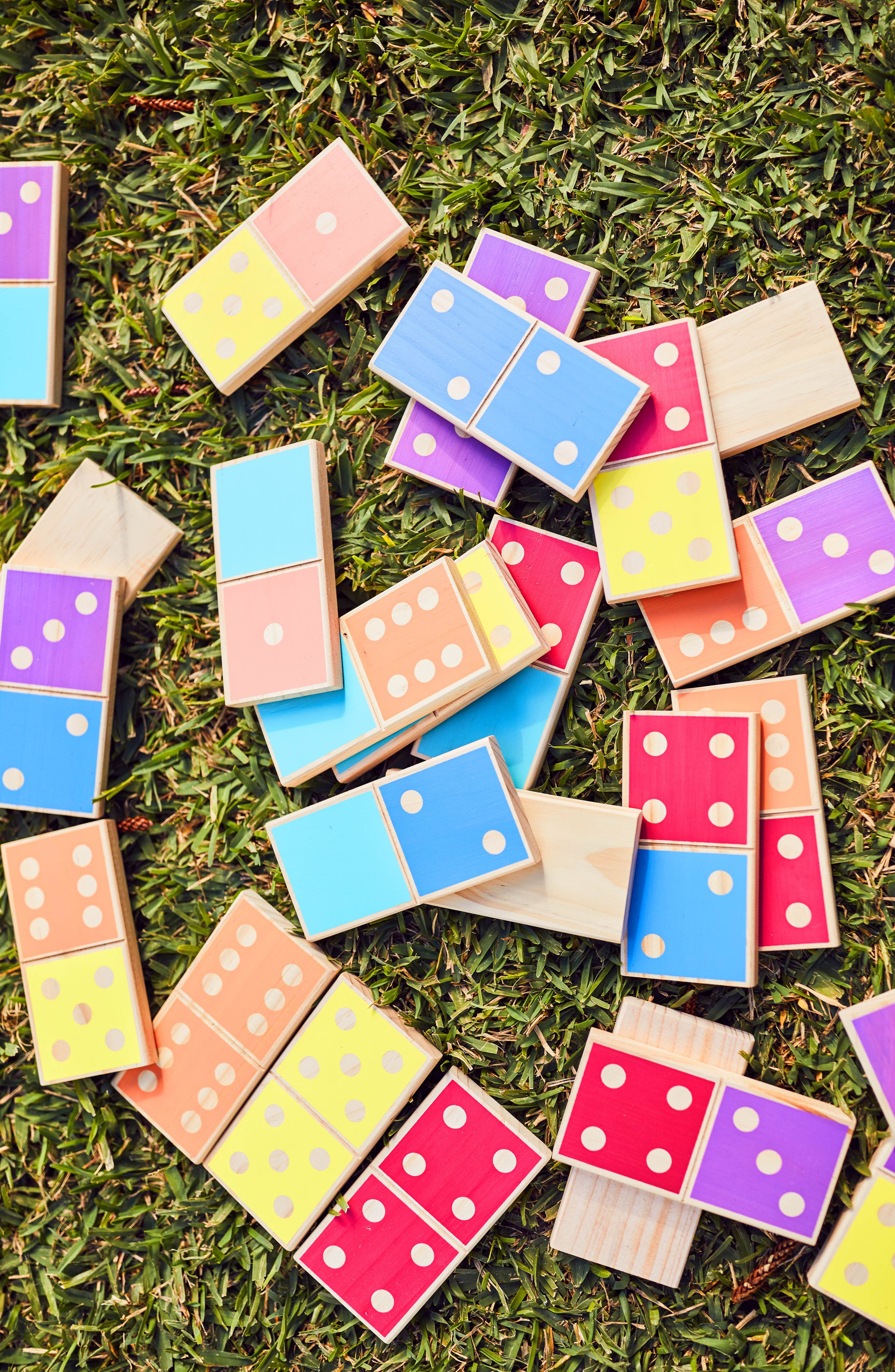 28-Piece Giant Dominos Game,                             Alternate thumbnail 2, color,                             Multi