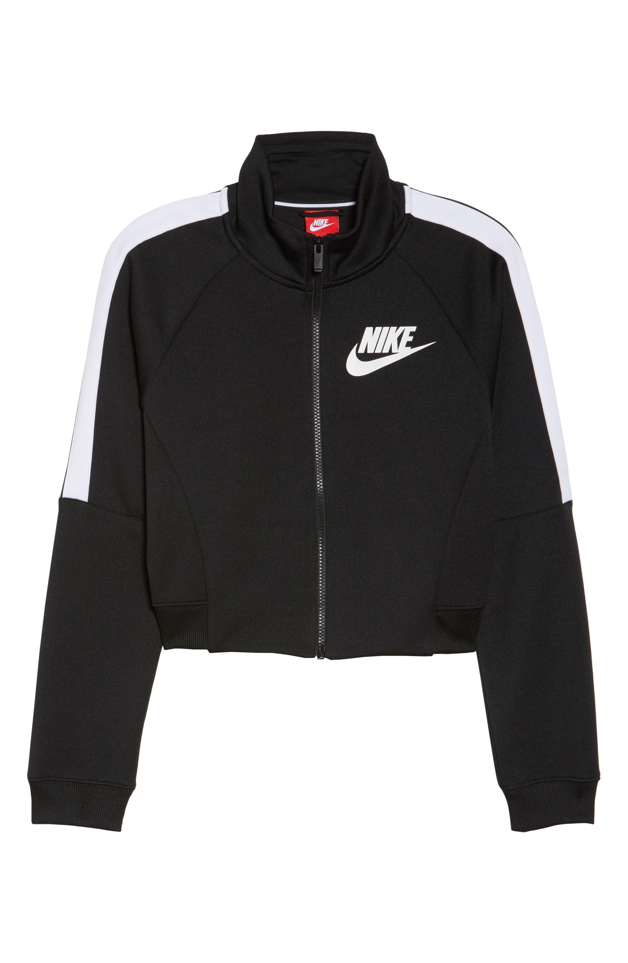 Sportswear N98 Jacket,                             Alternate thumbnail 7, color,                             Black/ White