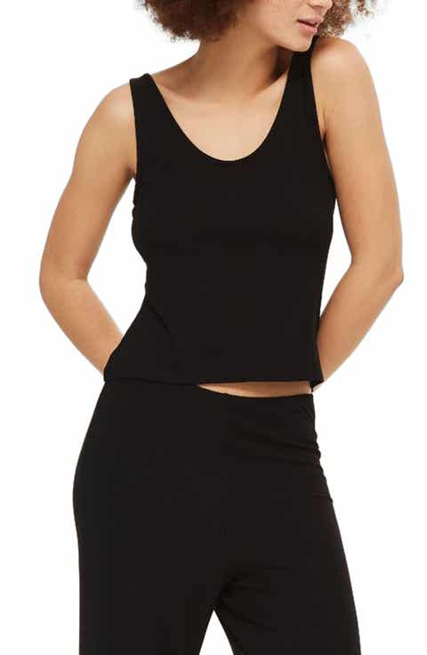 Topshop Ribbed Camisole