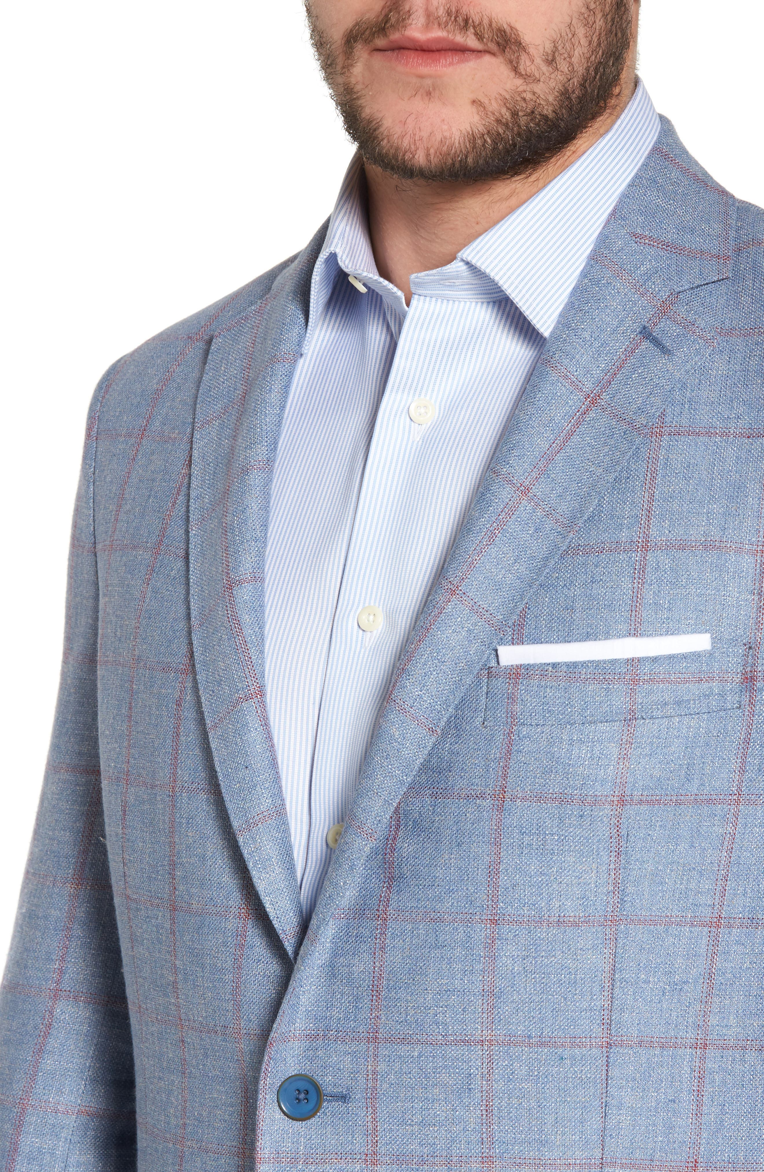 Alternate Image 4  - Hart Schaffner Marx Classic Fit Check Sport Coat