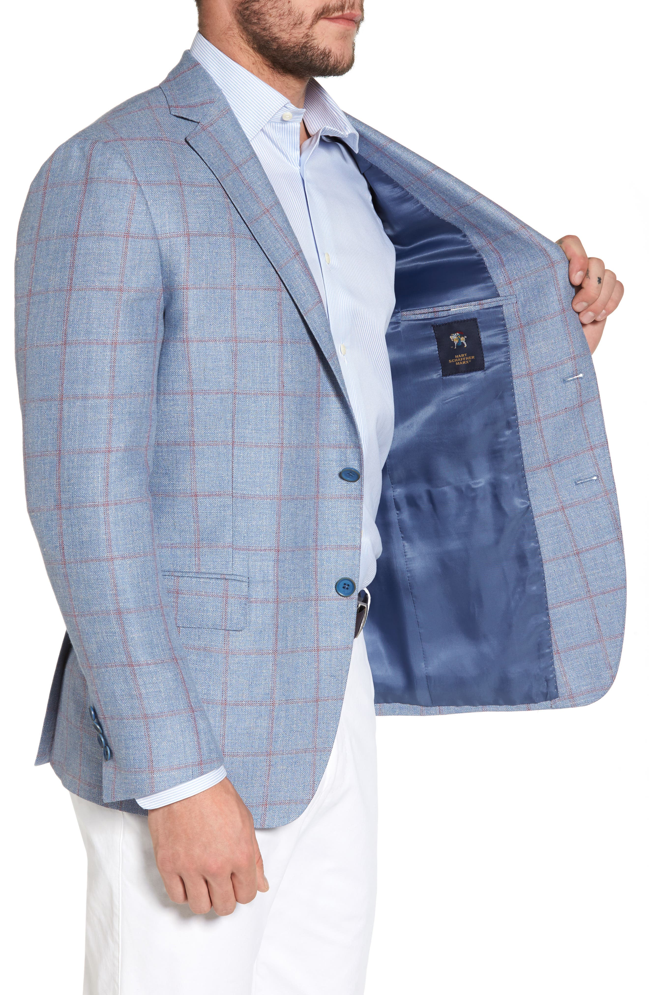 Alternate Image 3  - Hart Schaffner Marx Classic Fit Check Sport Coat