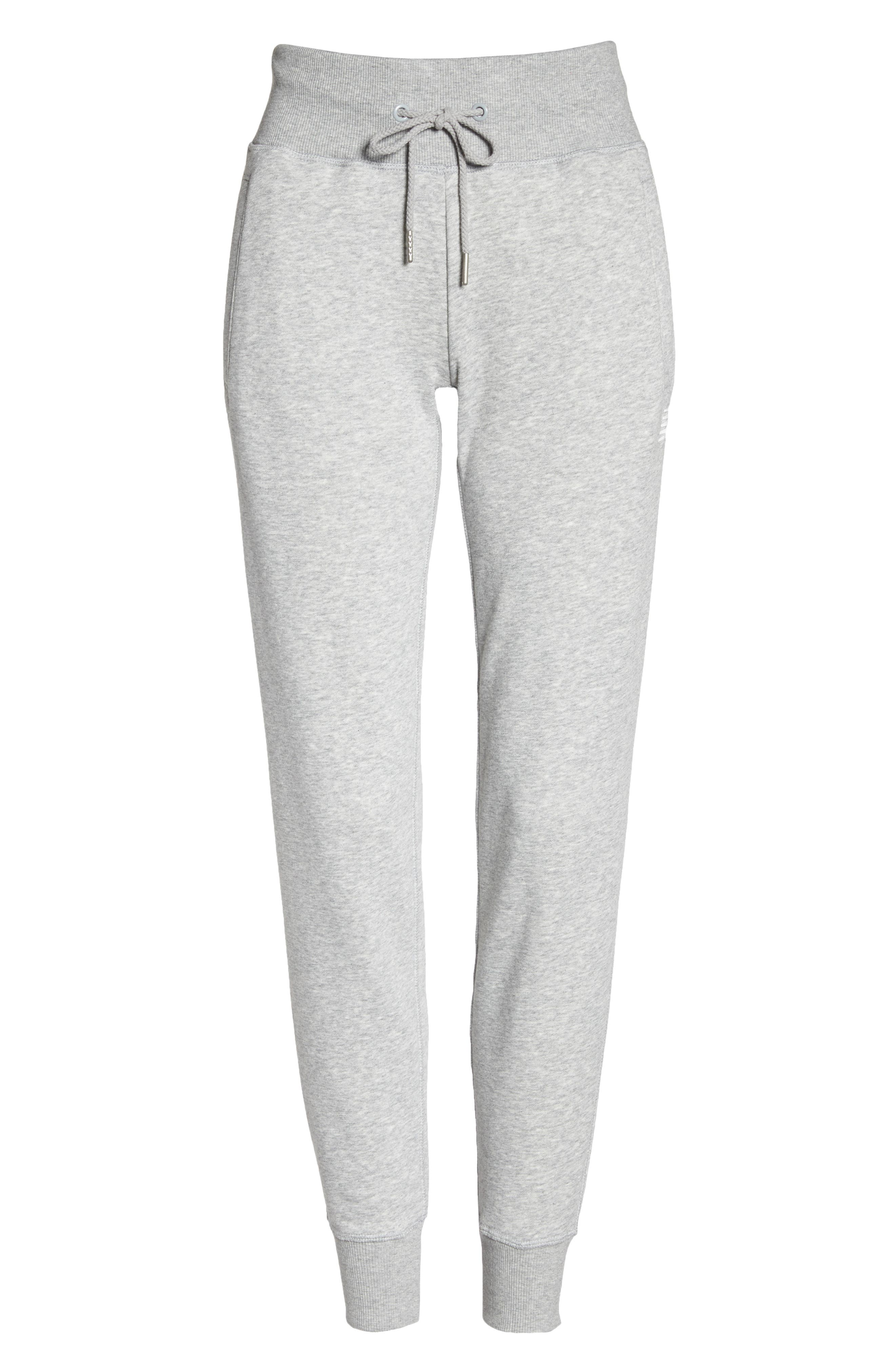 Essentials Sweatpants,                             Alternate thumbnail 7, color,                             Athletic Grey