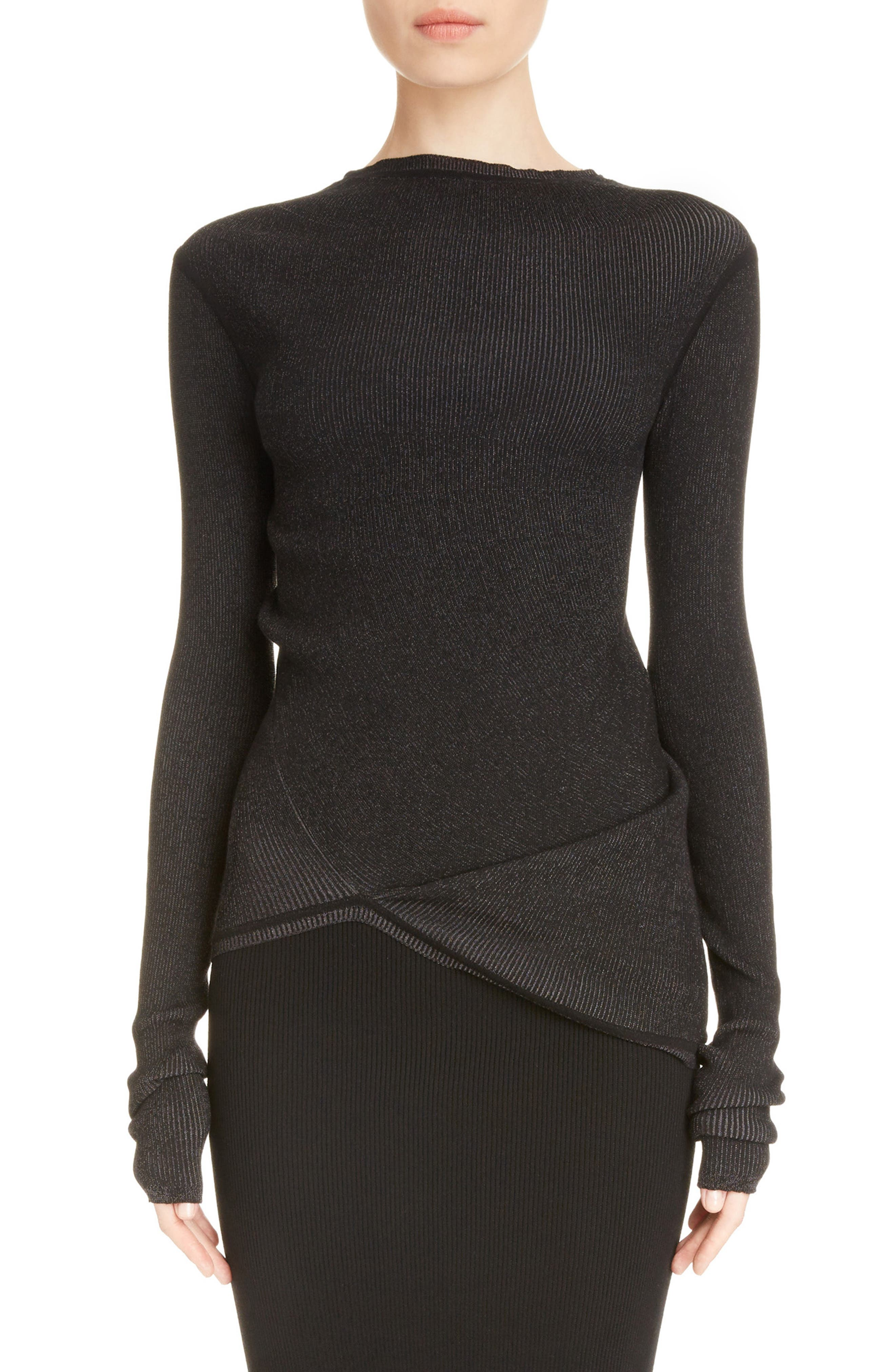 Rick Owens Stretch Knit Top