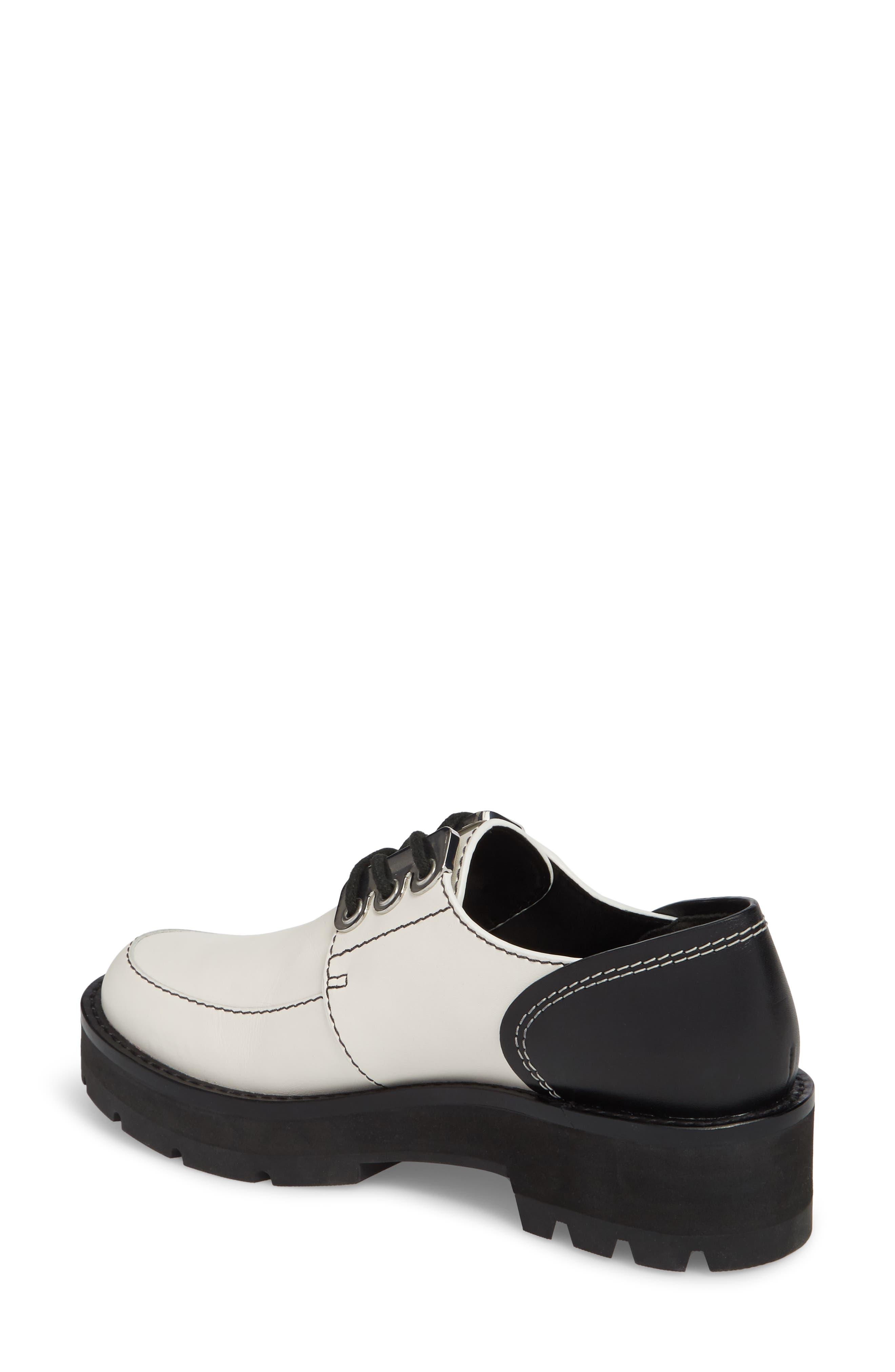 Cat Loafer,                             Alternate thumbnail 2, color,                             White-Black