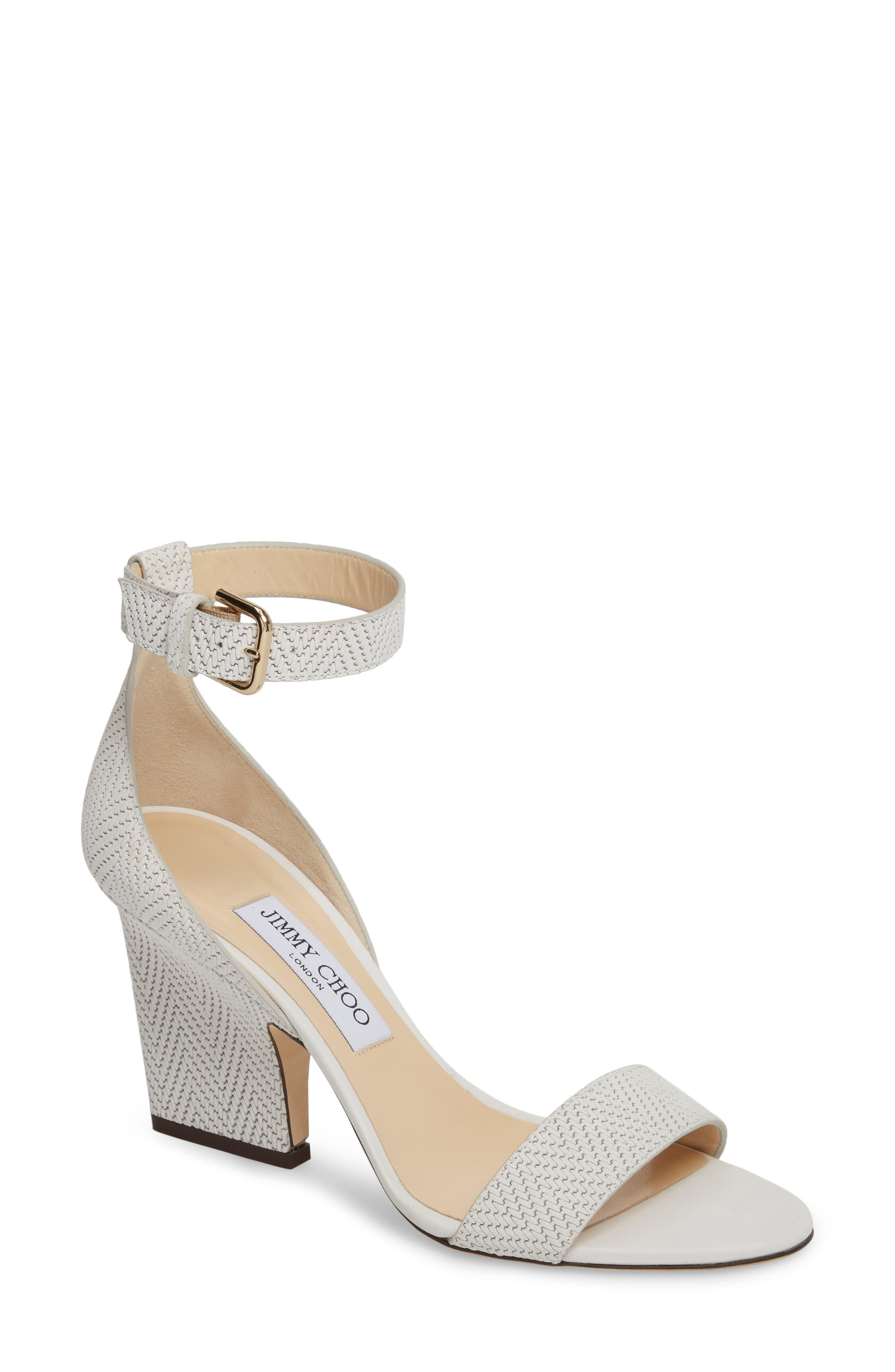 Main Image - Jimmy Choo Edina Ankle Strap Sandal (Women)