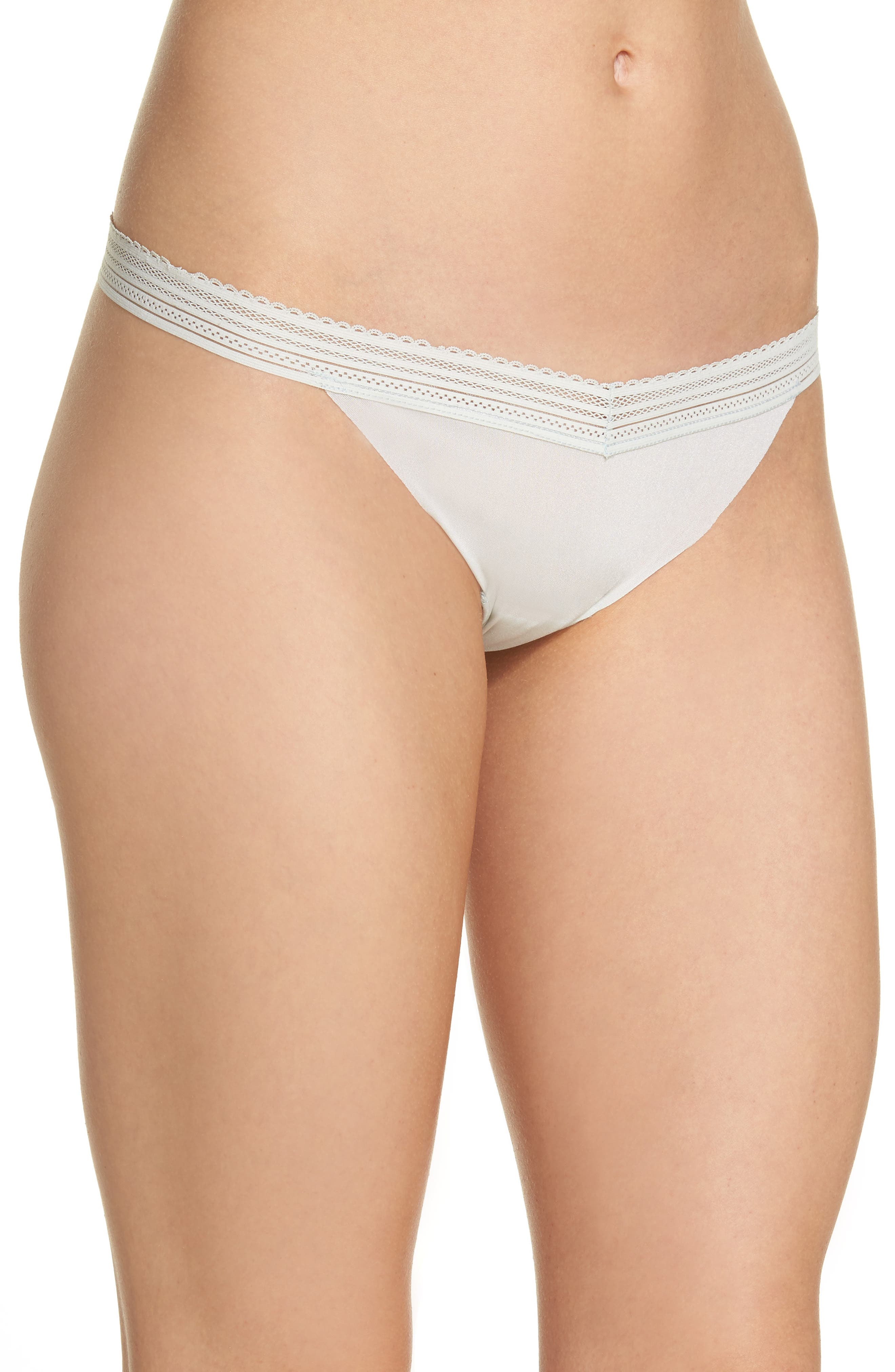 Laced In Aire Thong,                             Alternate thumbnail 3, color,                             Desert Sage