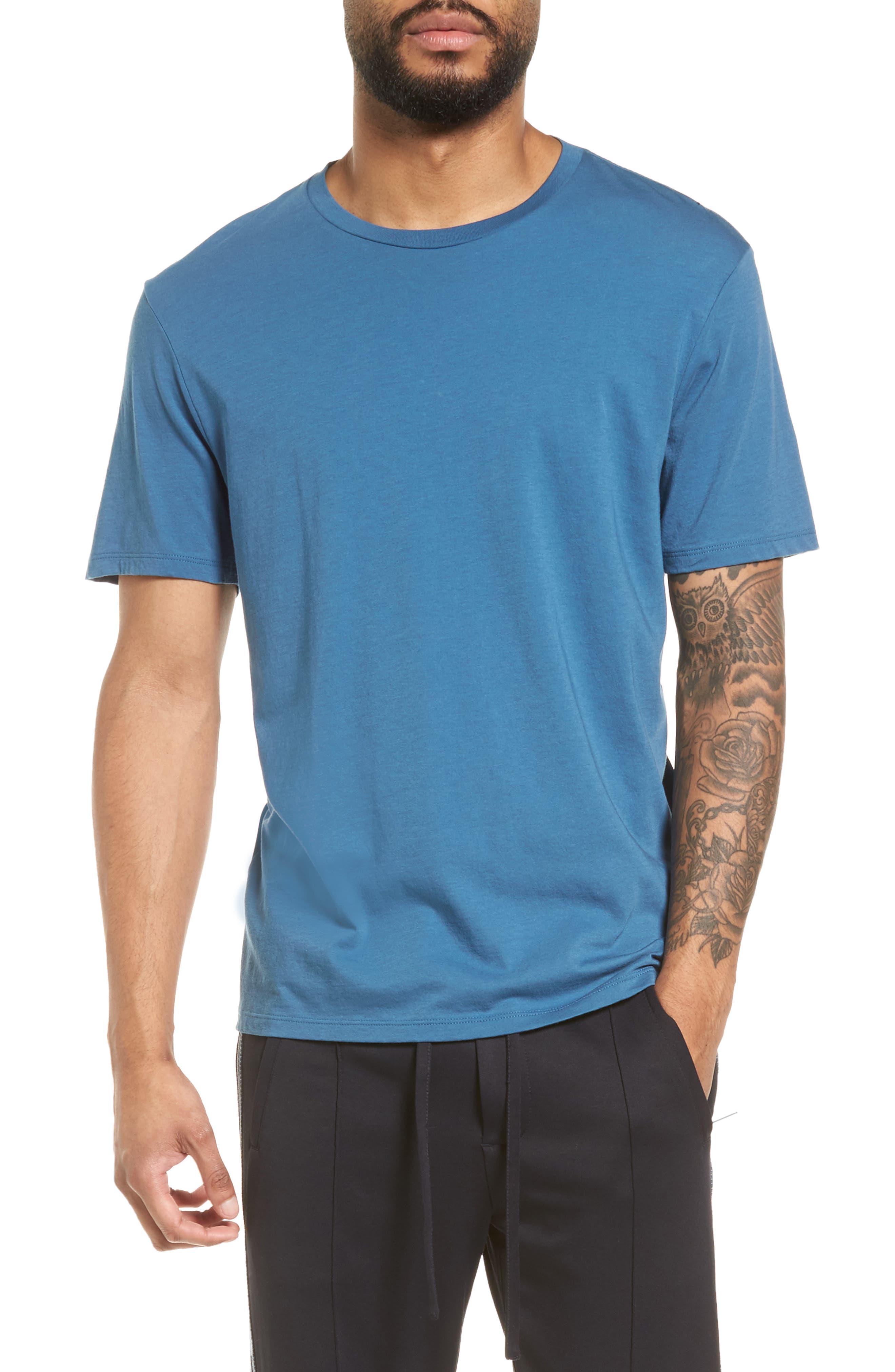 Slim Fit T-Shirt,                         Main,                         color, Santorini