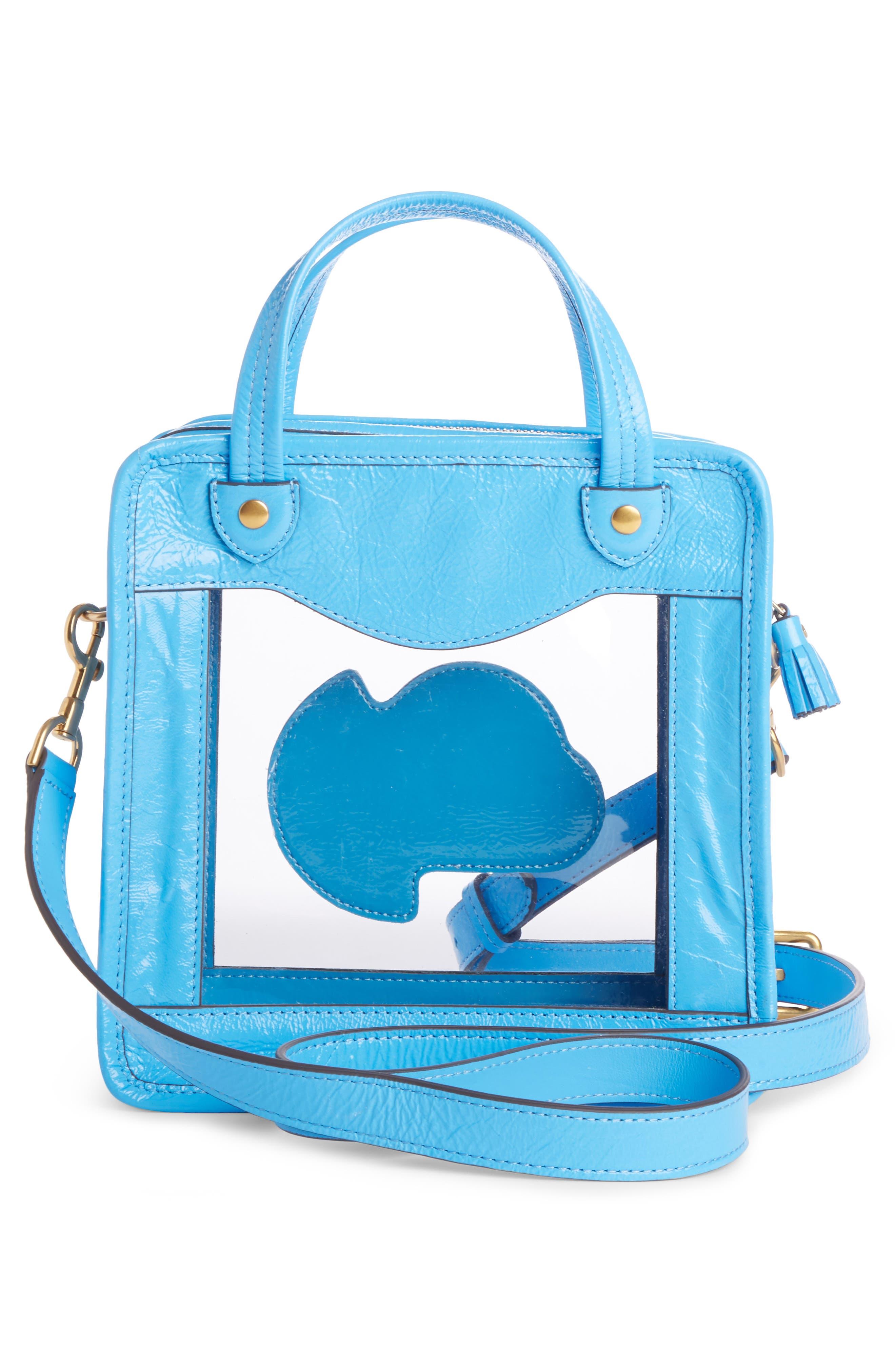 Rainy Day Crossbody Bag,                             Alternate thumbnail 2, color,                             Blue Quilt