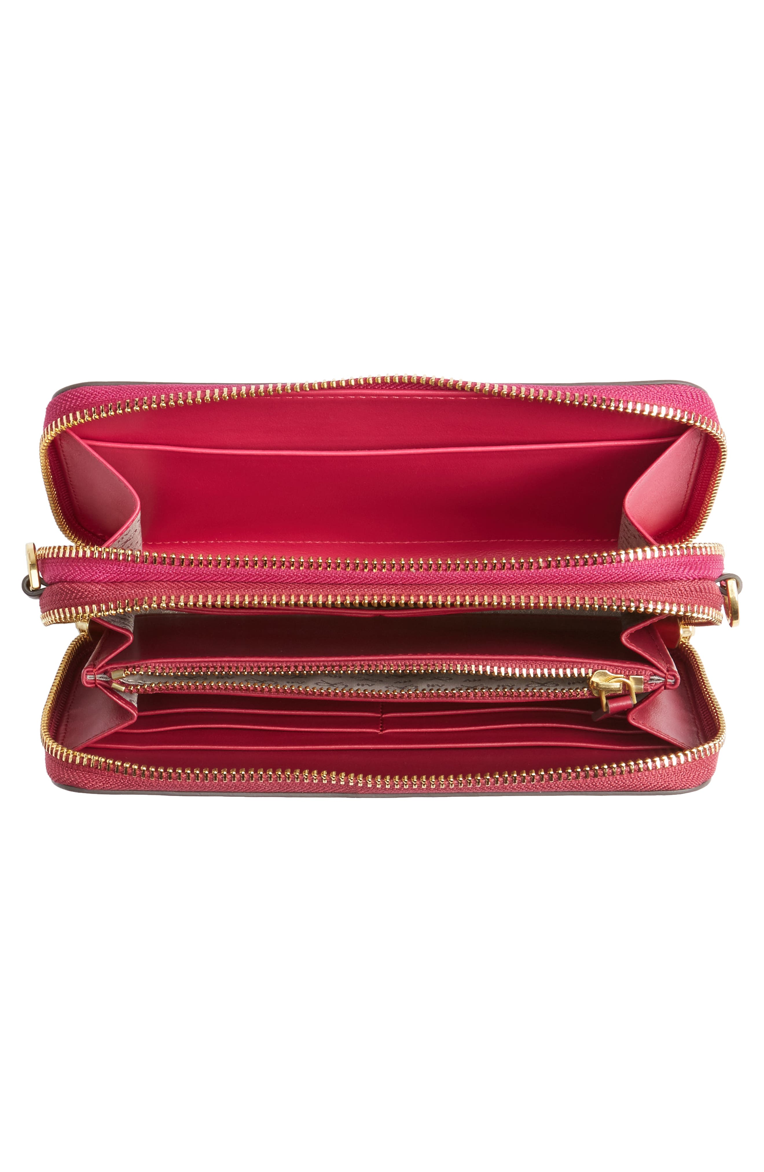 Alternate Image 2  - Anya Hindmarch Stack Leather Crossbody Wallet
