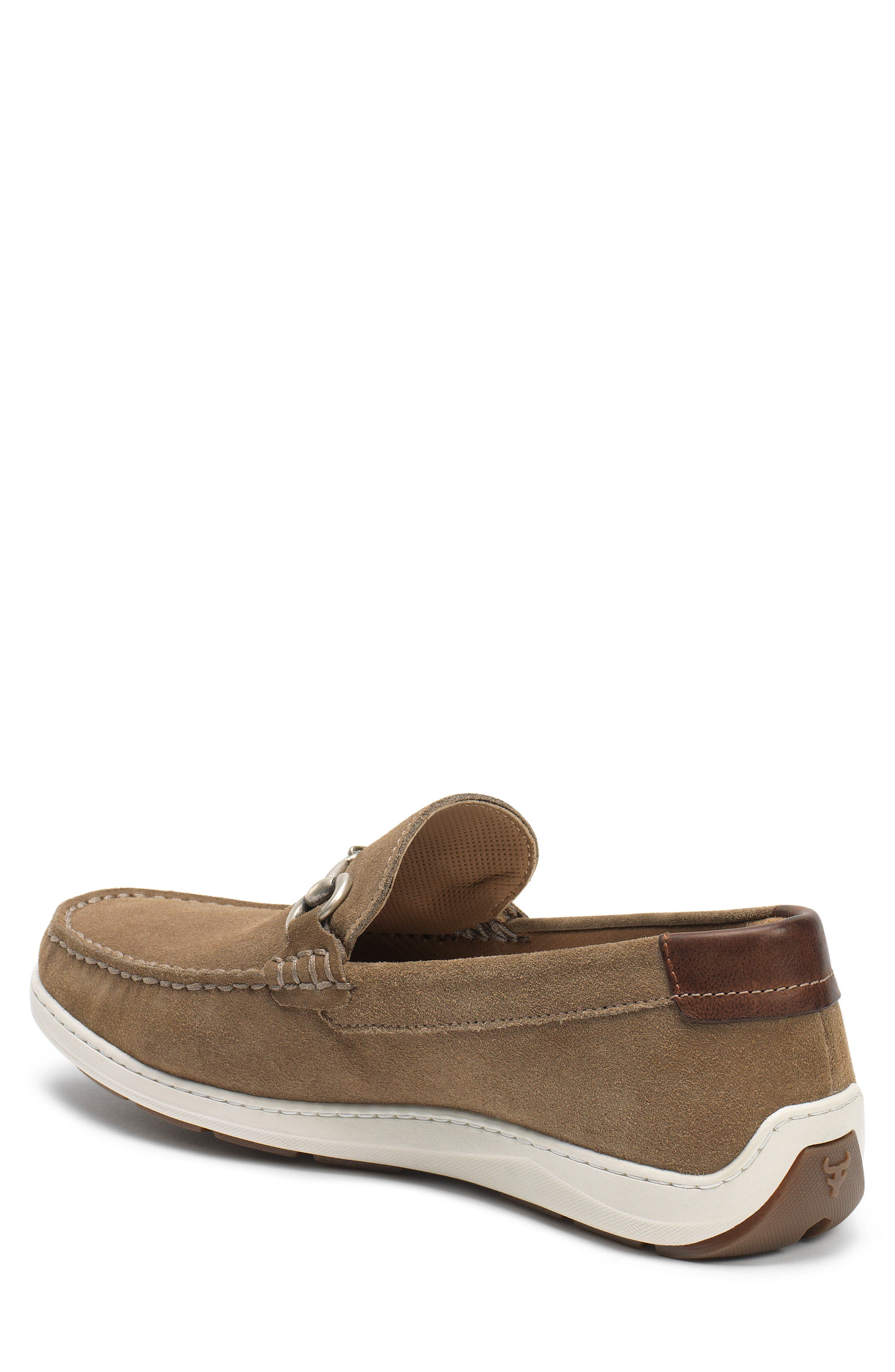 Stalworth Bit Loafer,                             Alternate thumbnail 2, color,                             Taupe Leather