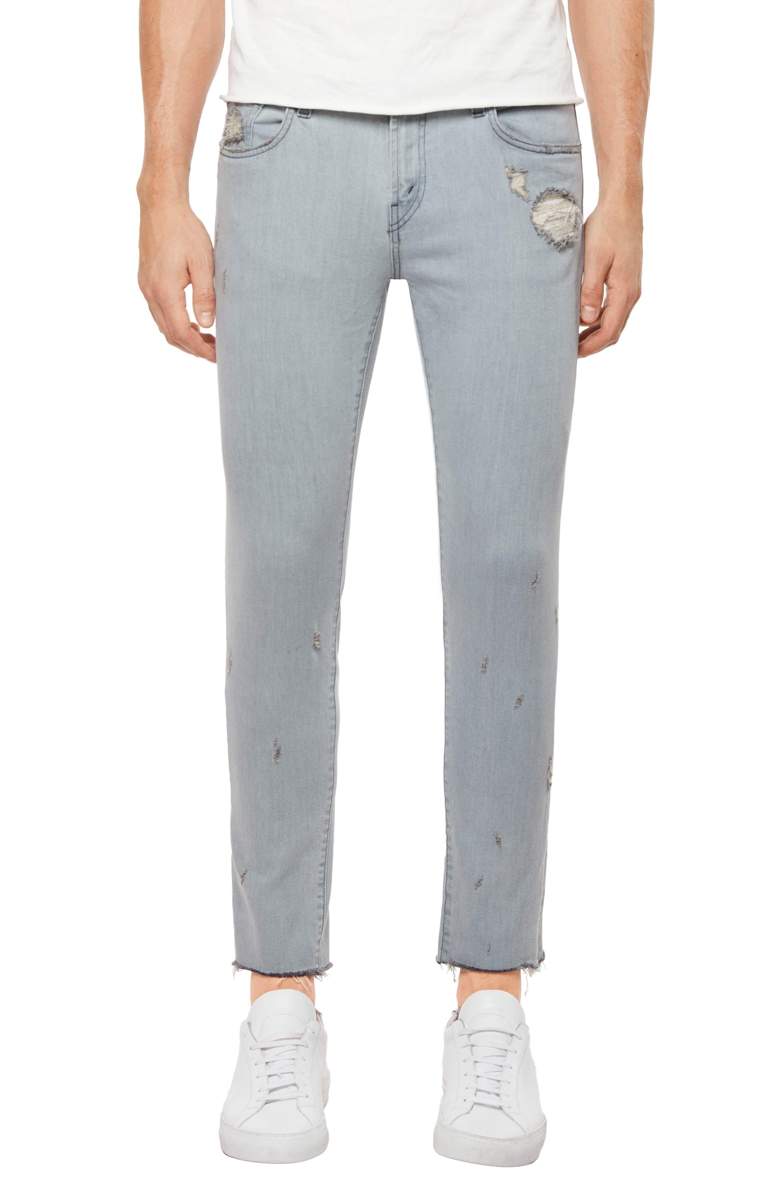 Tyler Slim Fit Jeans,                         Main,                         color, Trounced Porpoise