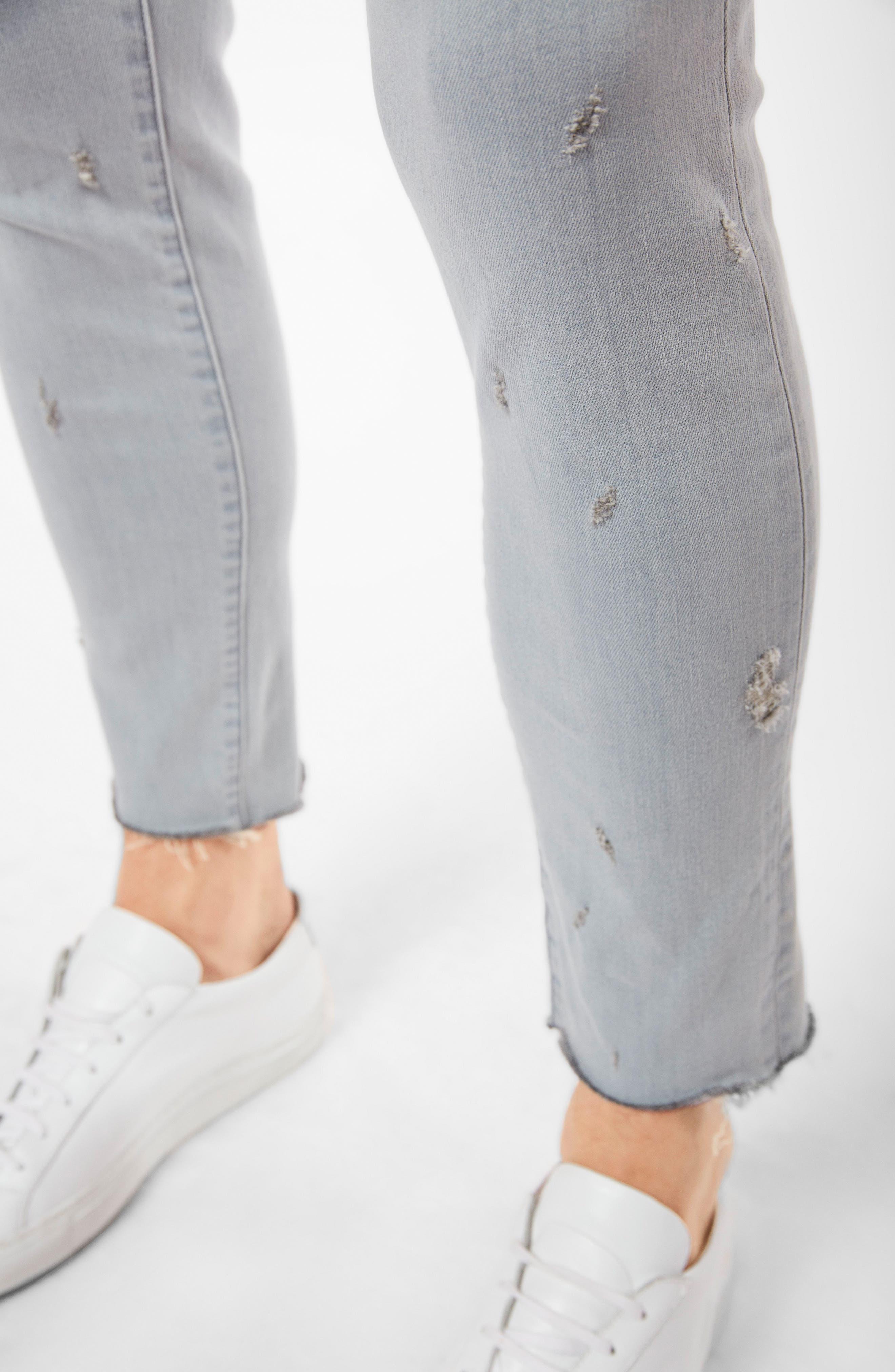 Tyler Slim Fit Jeans,                             Alternate thumbnail 6, color,                             Trounced Porpoise