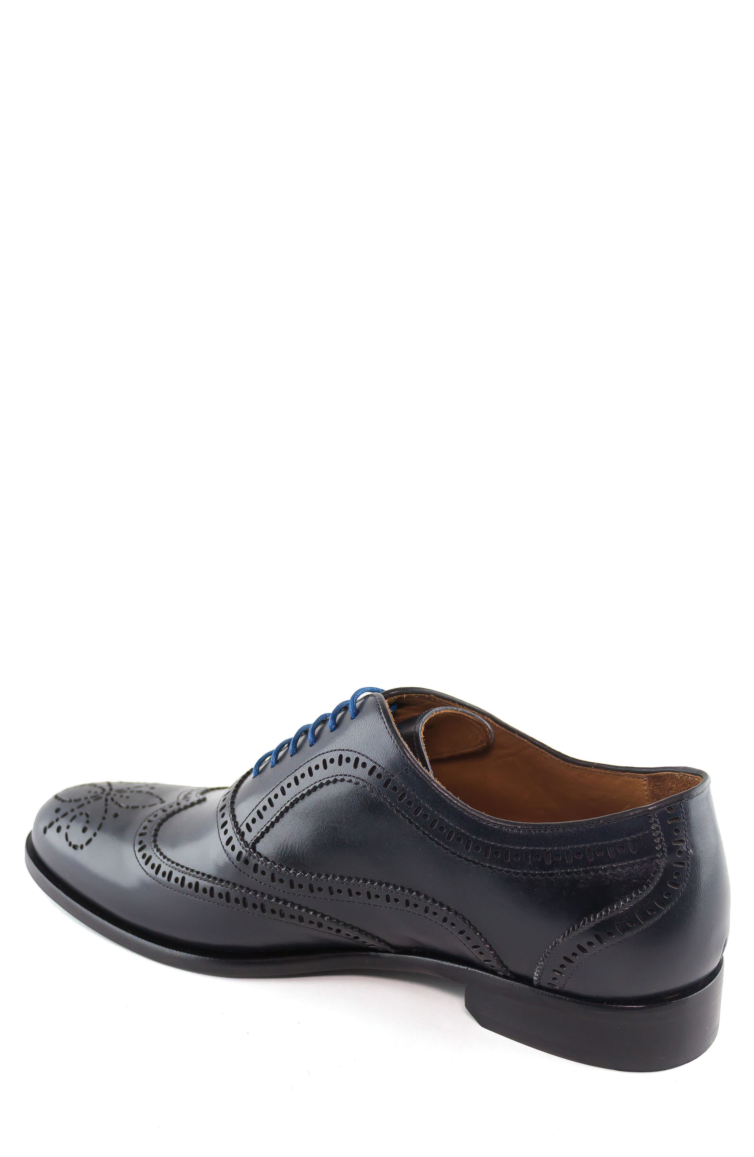 Madison Wingtip Oxford,                             Alternate thumbnail 2, color,                             Navy