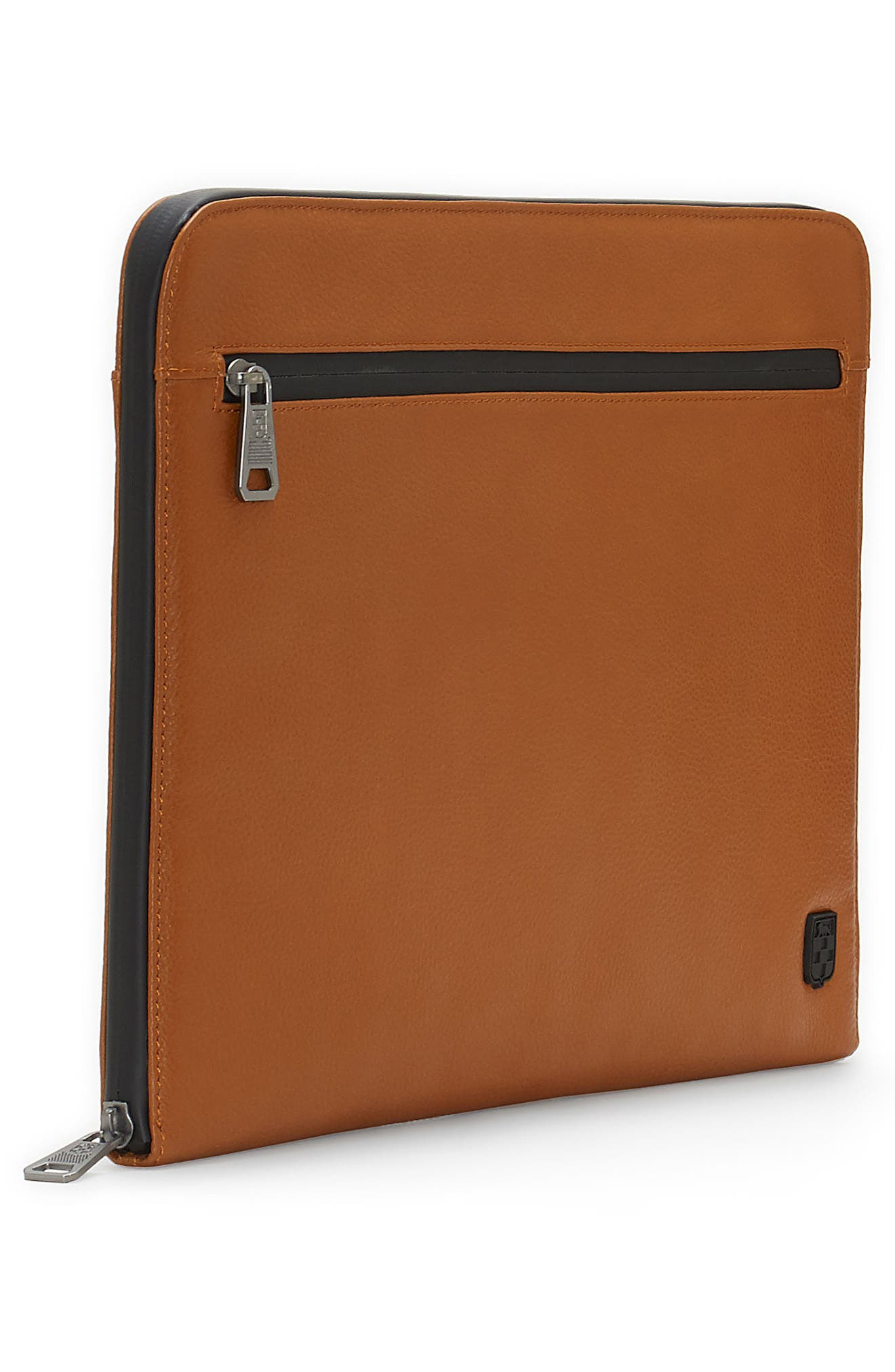 Purio Leather Portfolio,                             Alternate thumbnail 4, color,                             British Tan