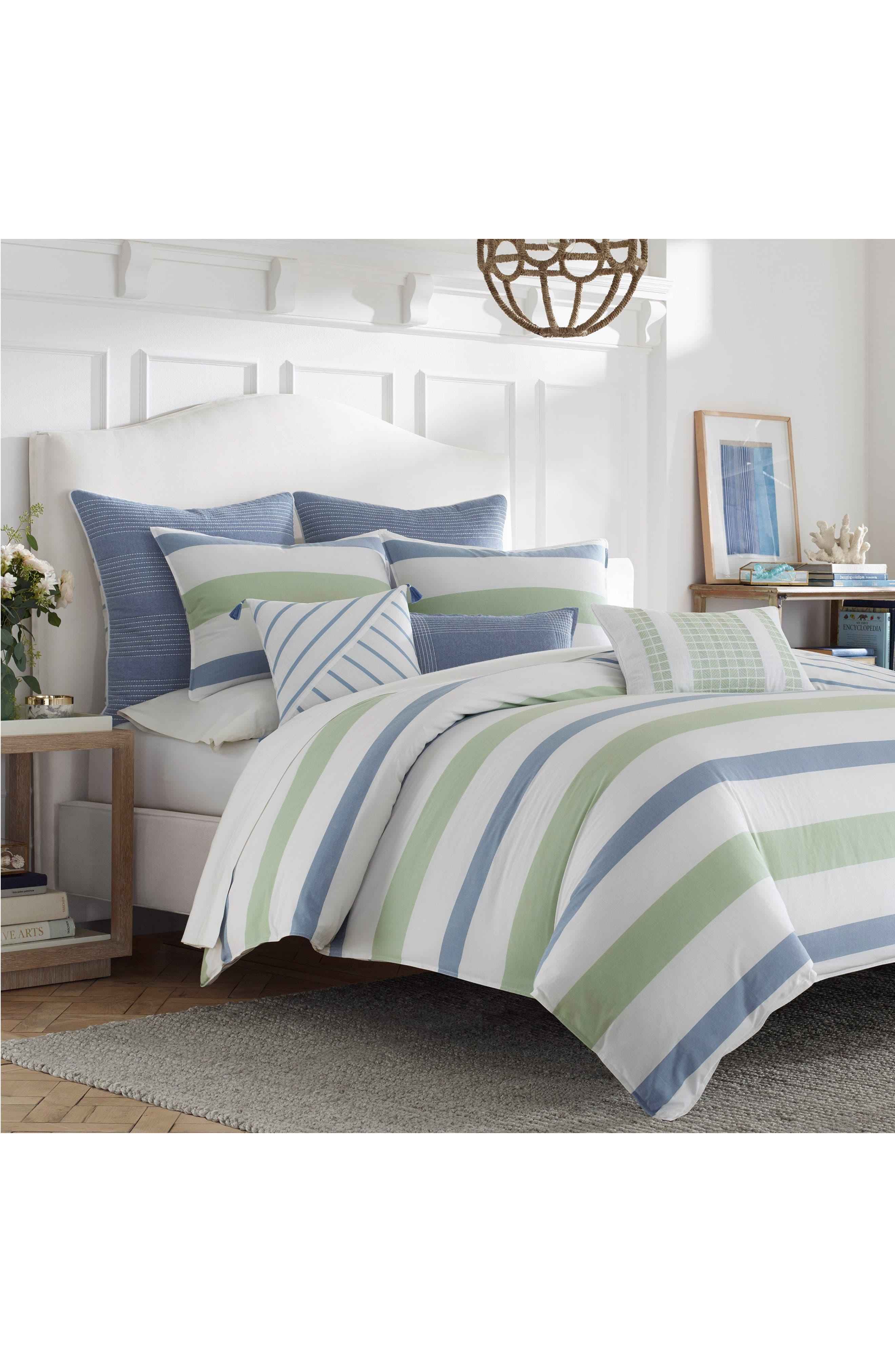 Norwich Comforter & Sham Set,                             Alternate thumbnail 2, color,                             Medium Blue