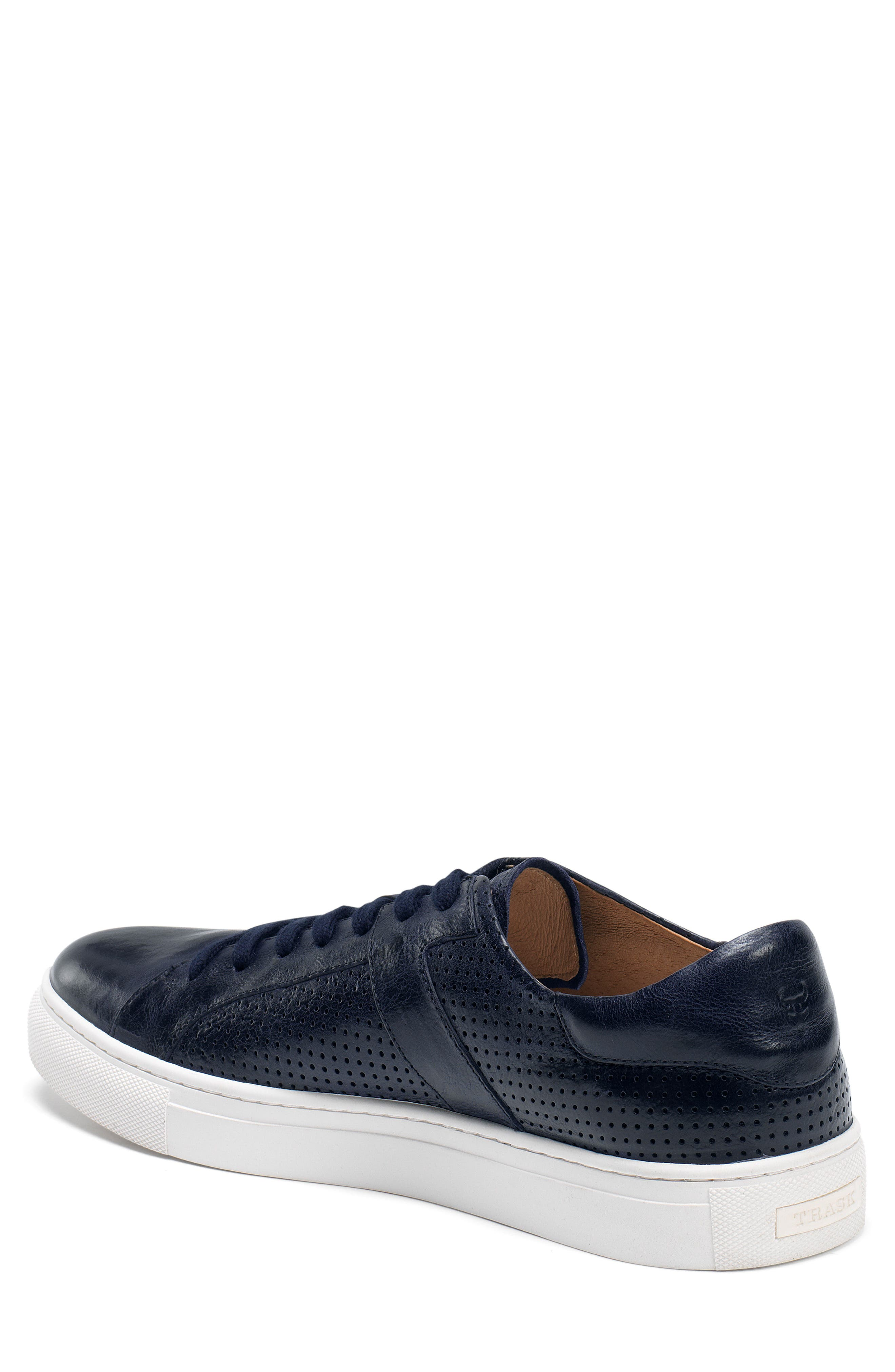 Aaron Sneaker,                             Alternate thumbnail 2, color,                             Navy Leather