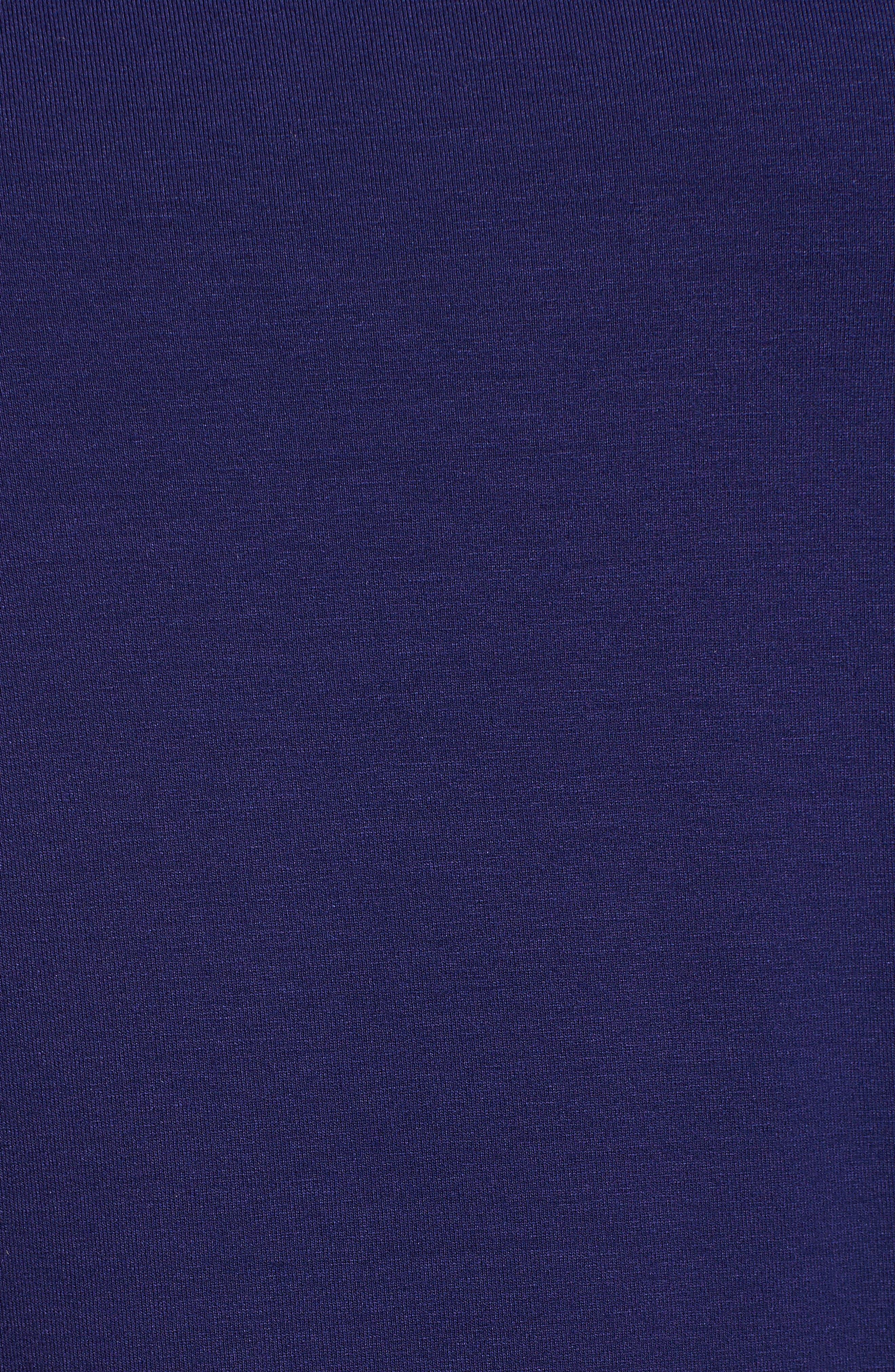 Alternate Image 5  - Eileen Fisher Bateau Neck Asymmetrical Jersey Tunic (Regular & Petite) (Online Only)