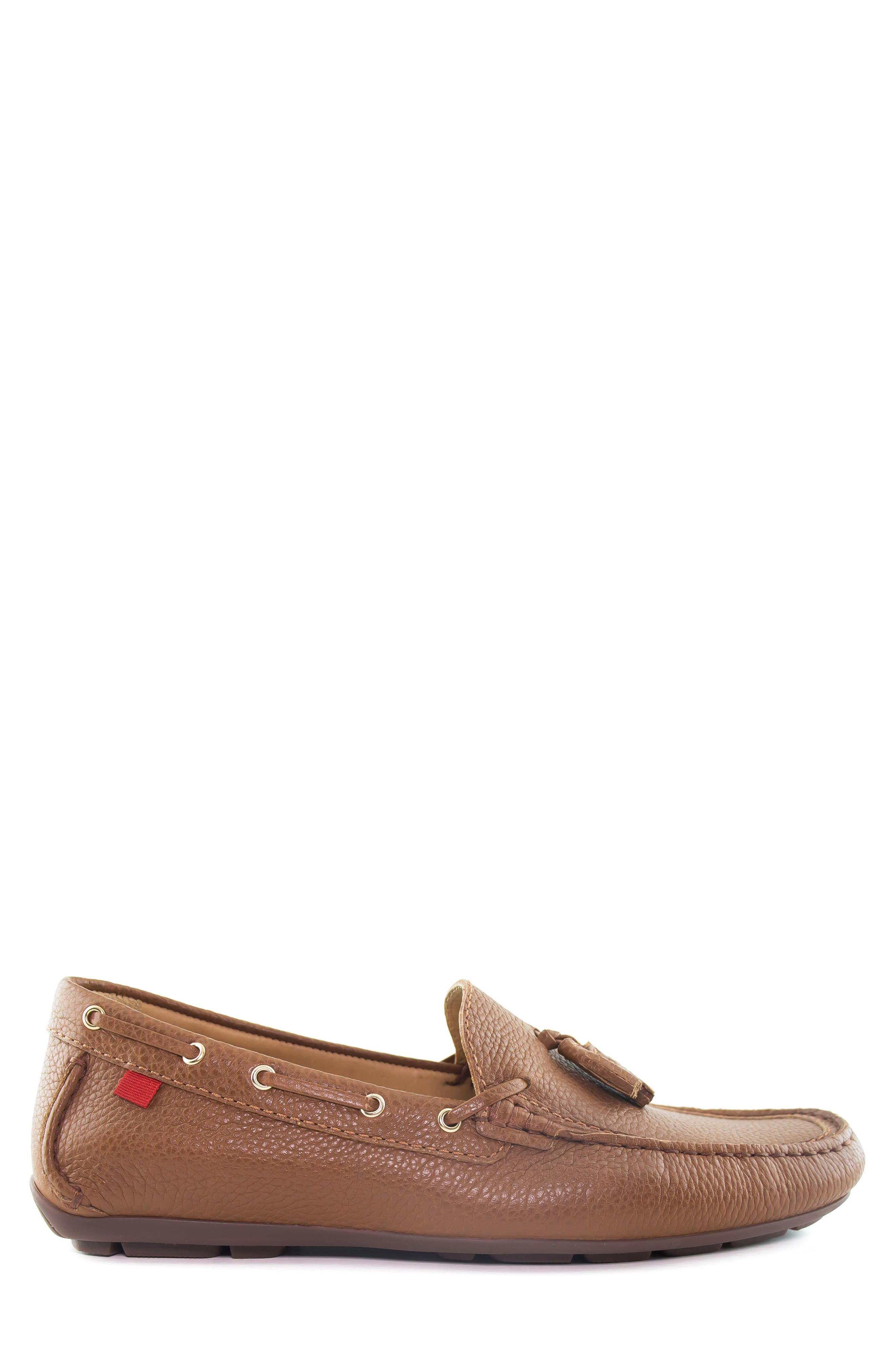 Bushwick Tasseled Driving Loafer,                             Alternate thumbnail 3, color,                             Cognac