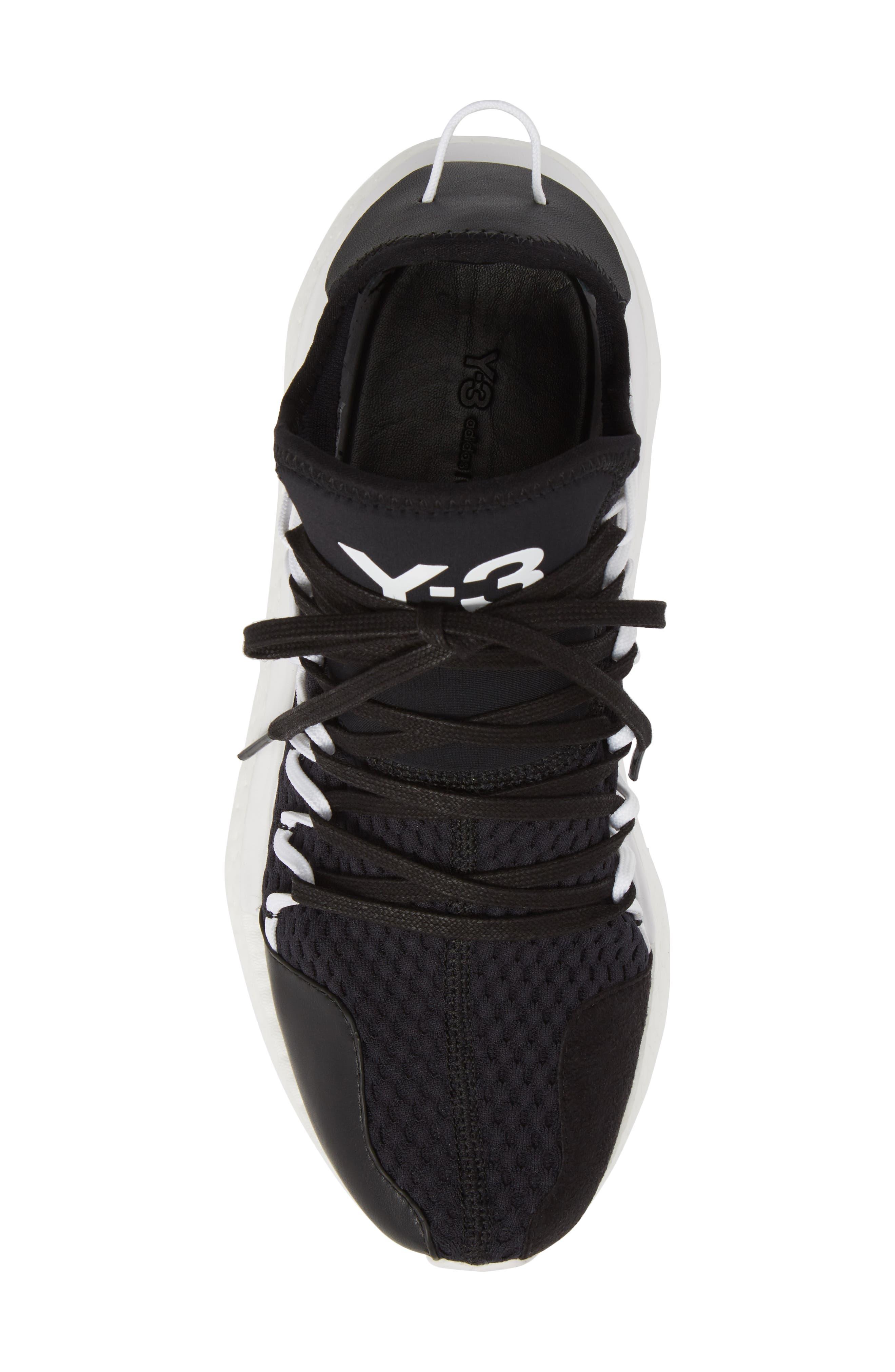 x adidas Kusari Sneaker,                             Alternate thumbnail 5, color,                             Black