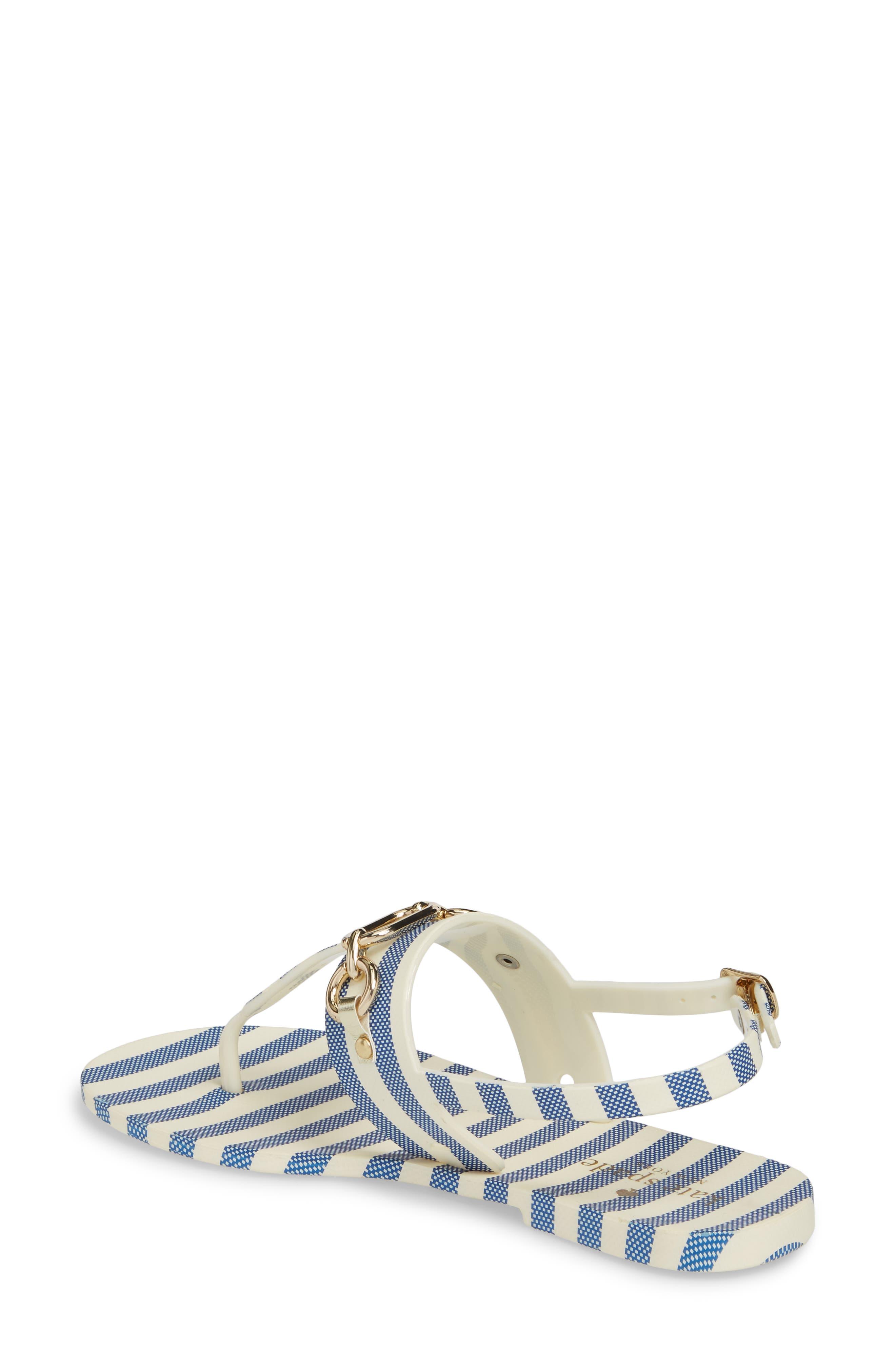 polly slingback sandal,                             Alternate thumbnail 2, color,                             Blue/ Cream