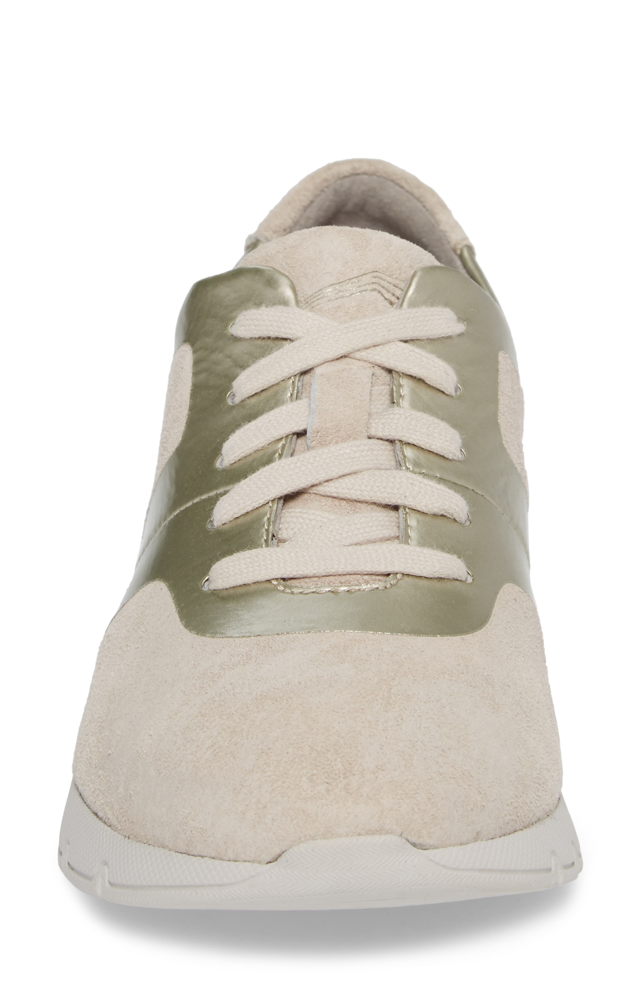 Andi Sneaker,                             Alternate thumbnail 4, color,                             Ivory Leather