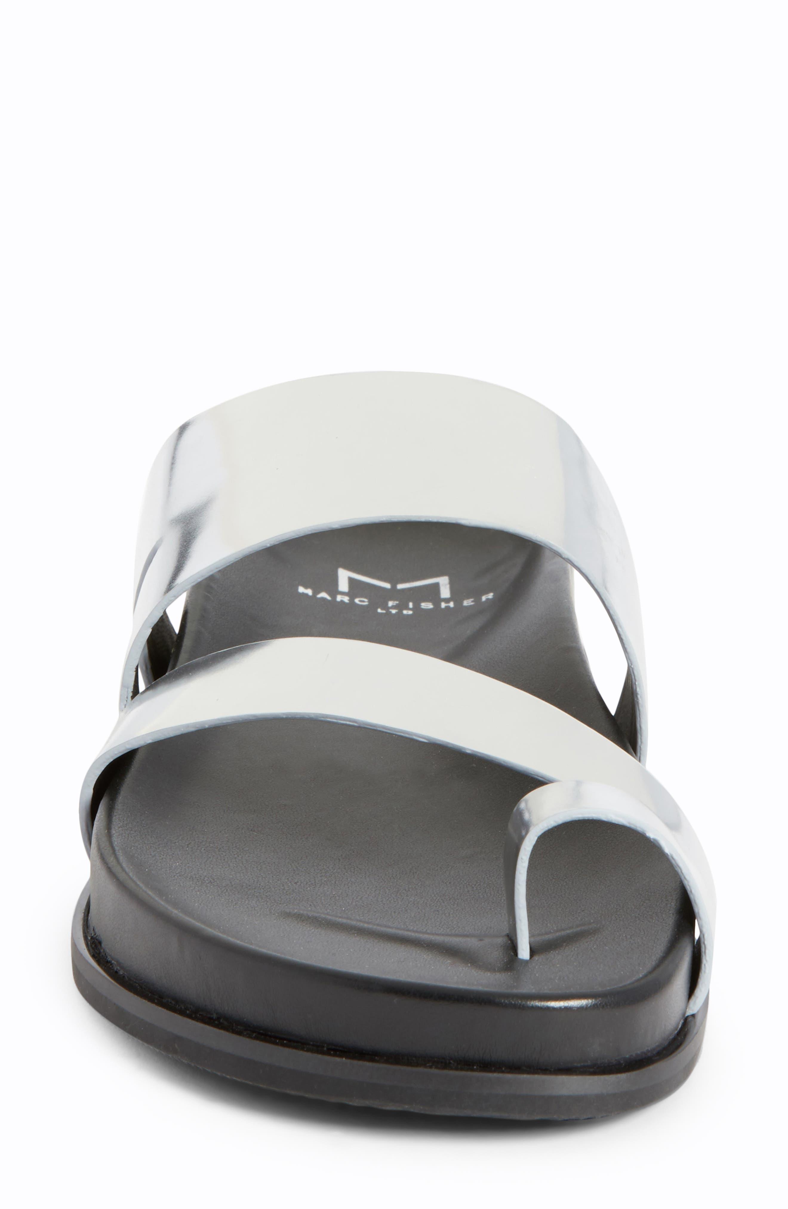 Yamini Sandal,                             Alternate thumbnail 4, color,                             Silver Leather