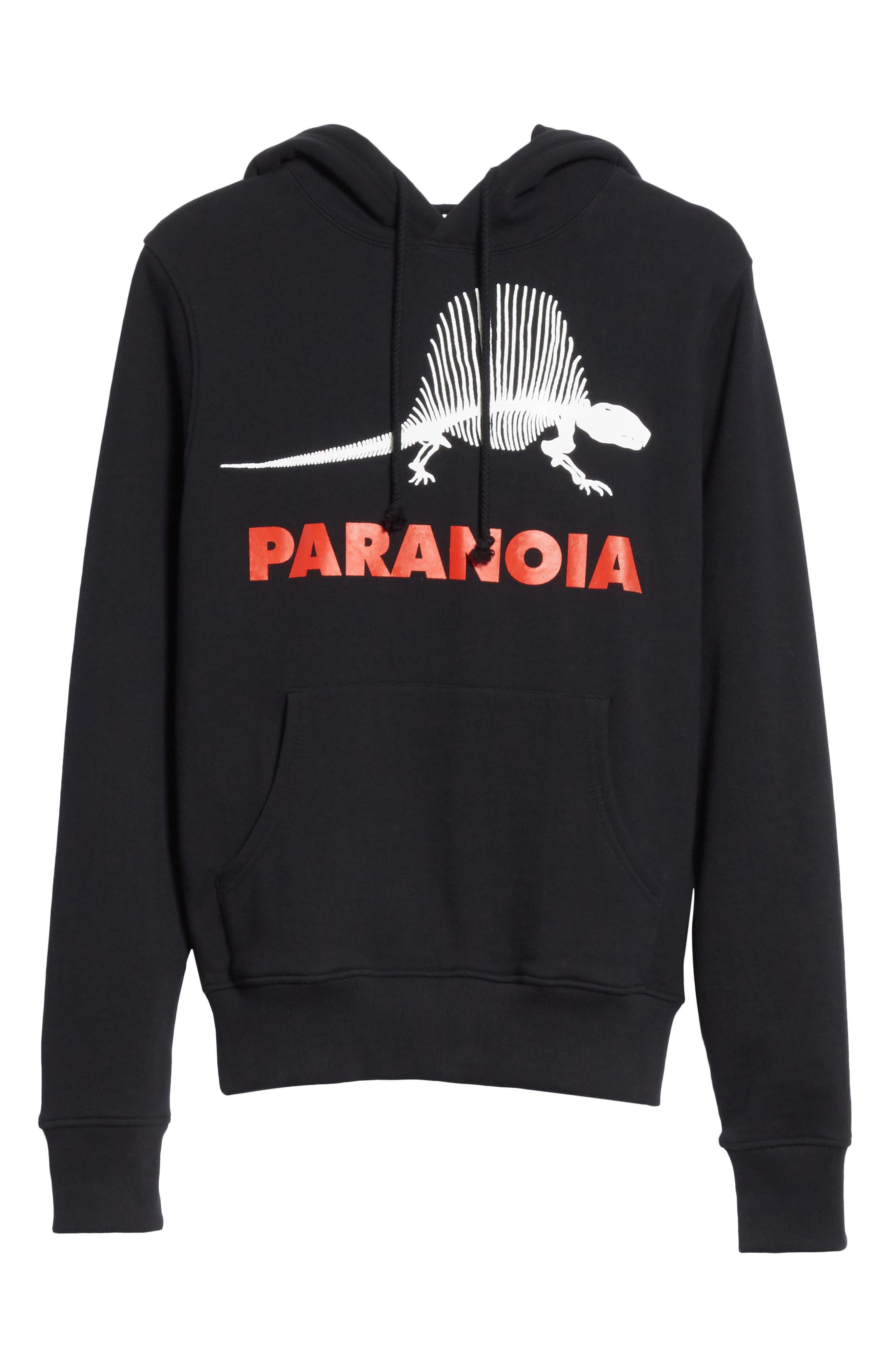 Paranoia Hoodie,                             Alternate thumbnail 6, color,                             Black