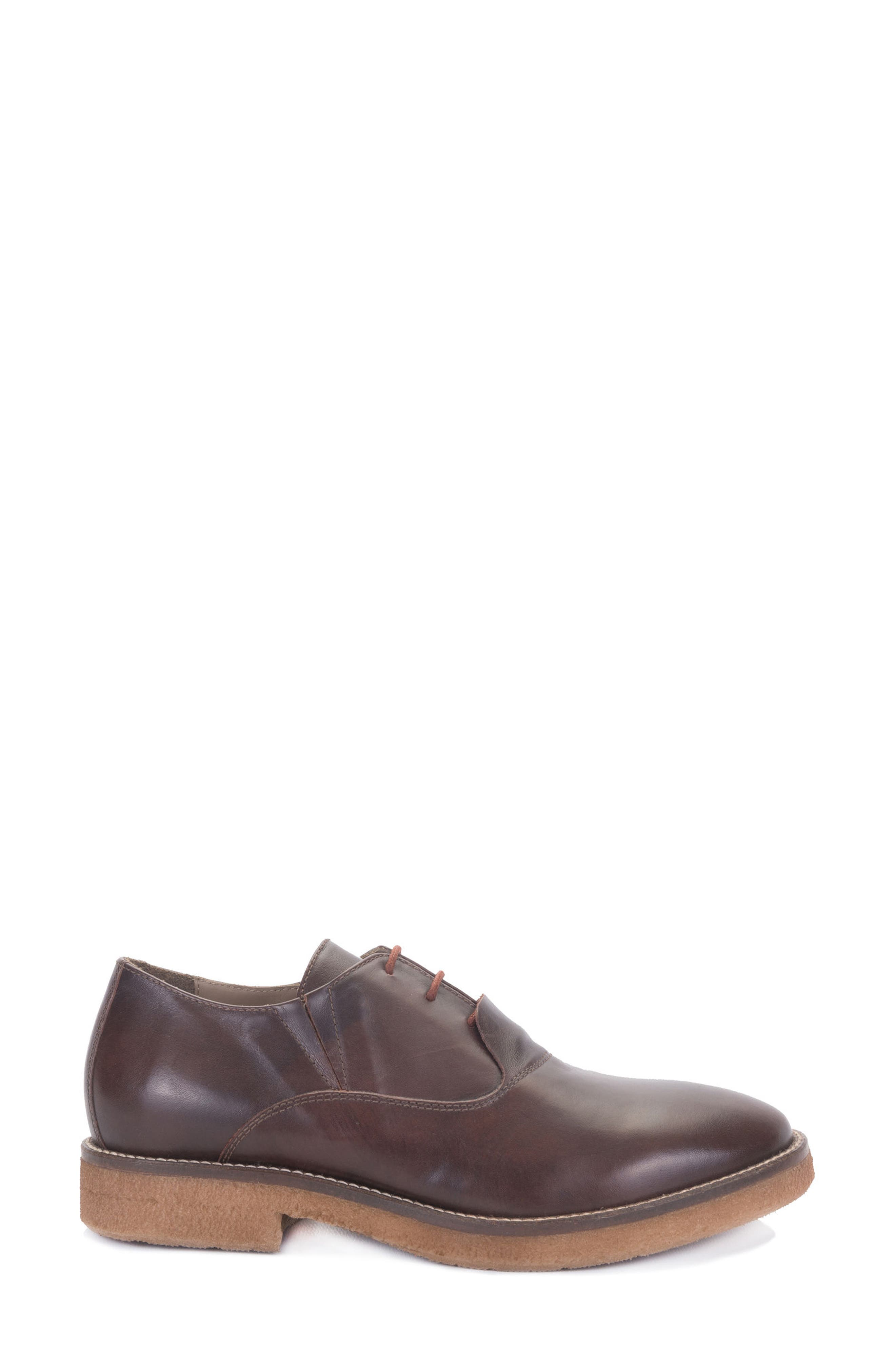 Molinella Water-Resistant Oxford,                             Alternate thumbnail 3, color,                             Ruggine Leather