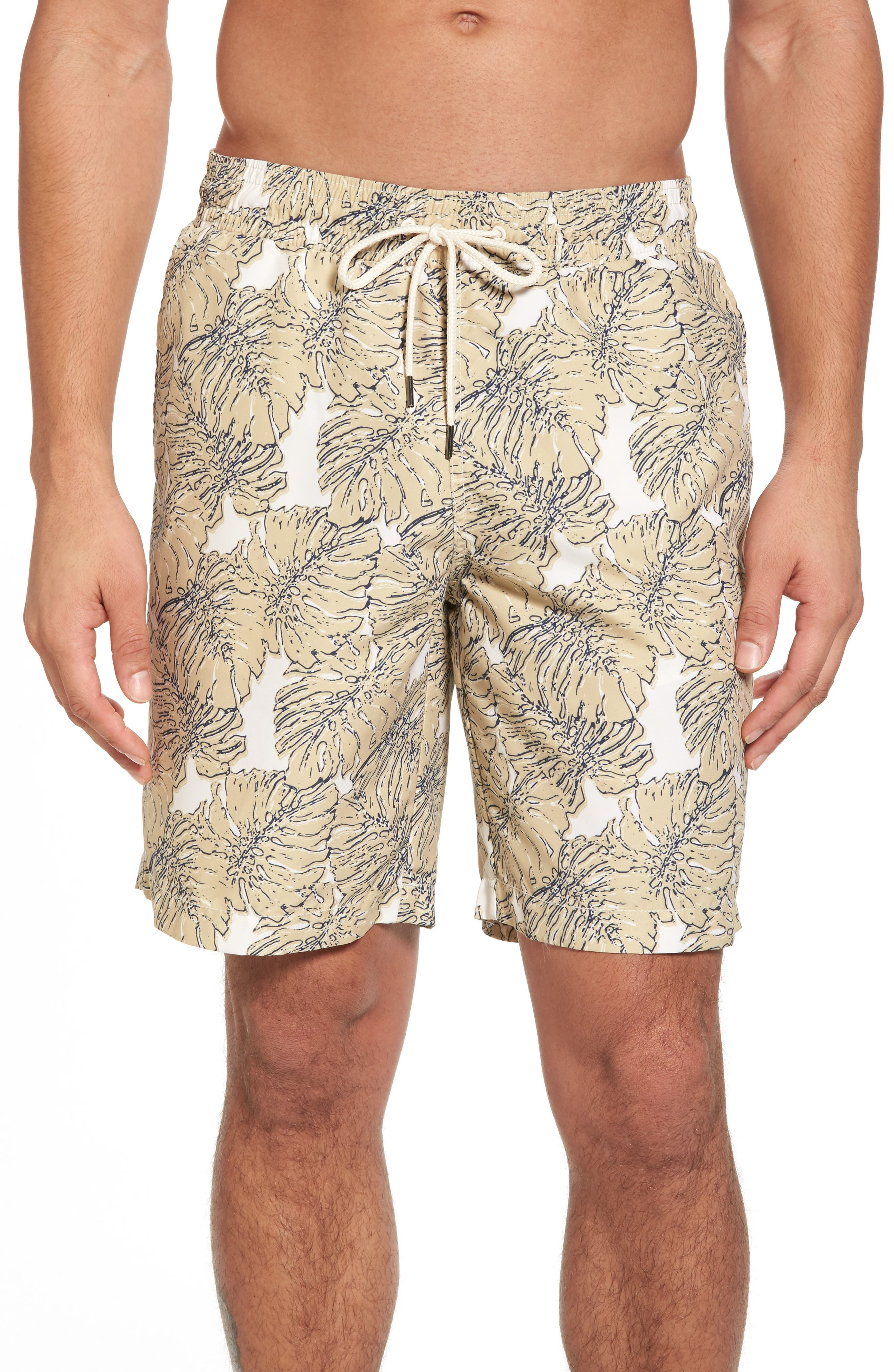 Grayers Split Leaf Swim Trunks