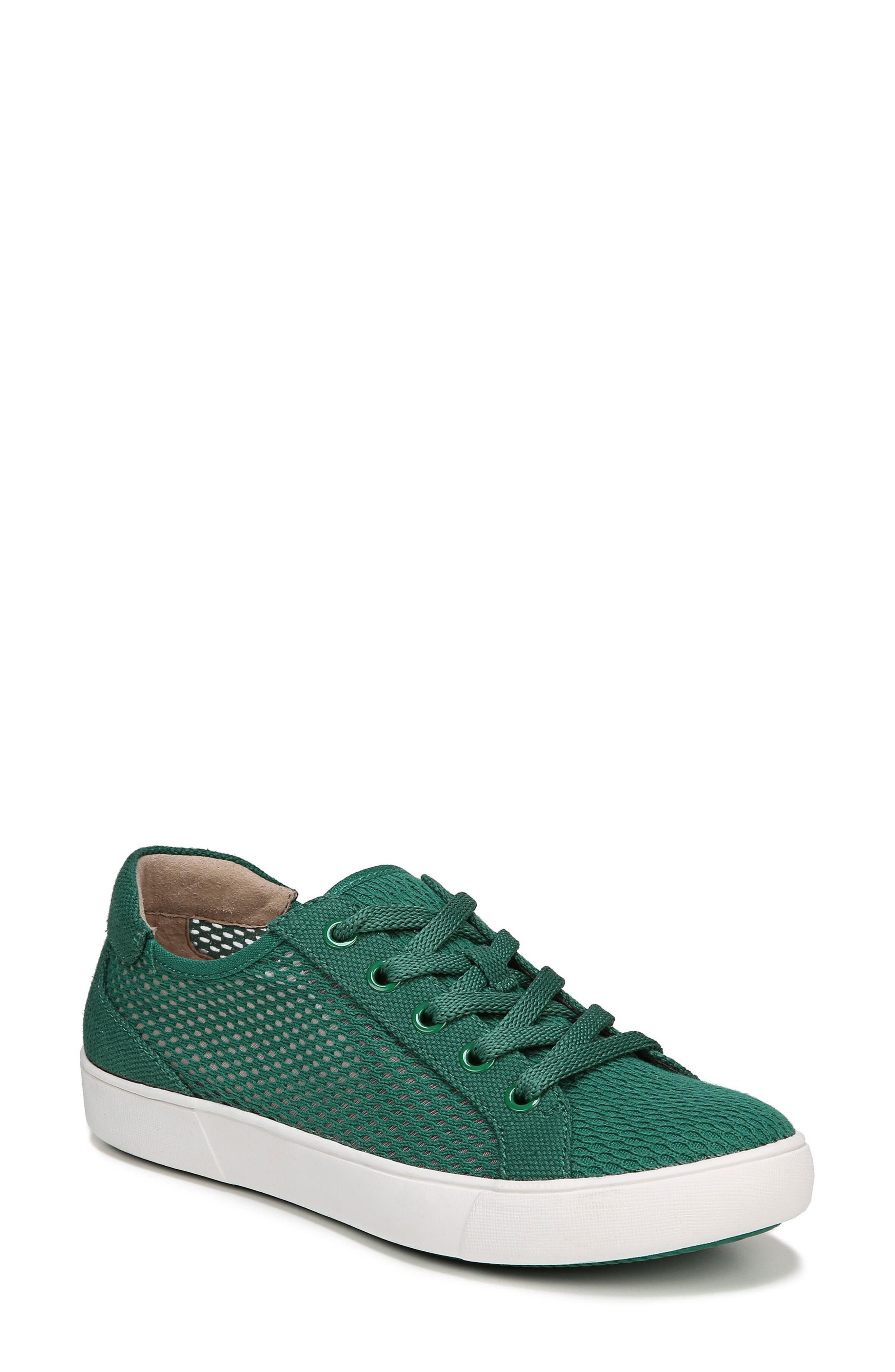 Morrison III Perforated Sneaker,                         Main,                         color, Green Leather
