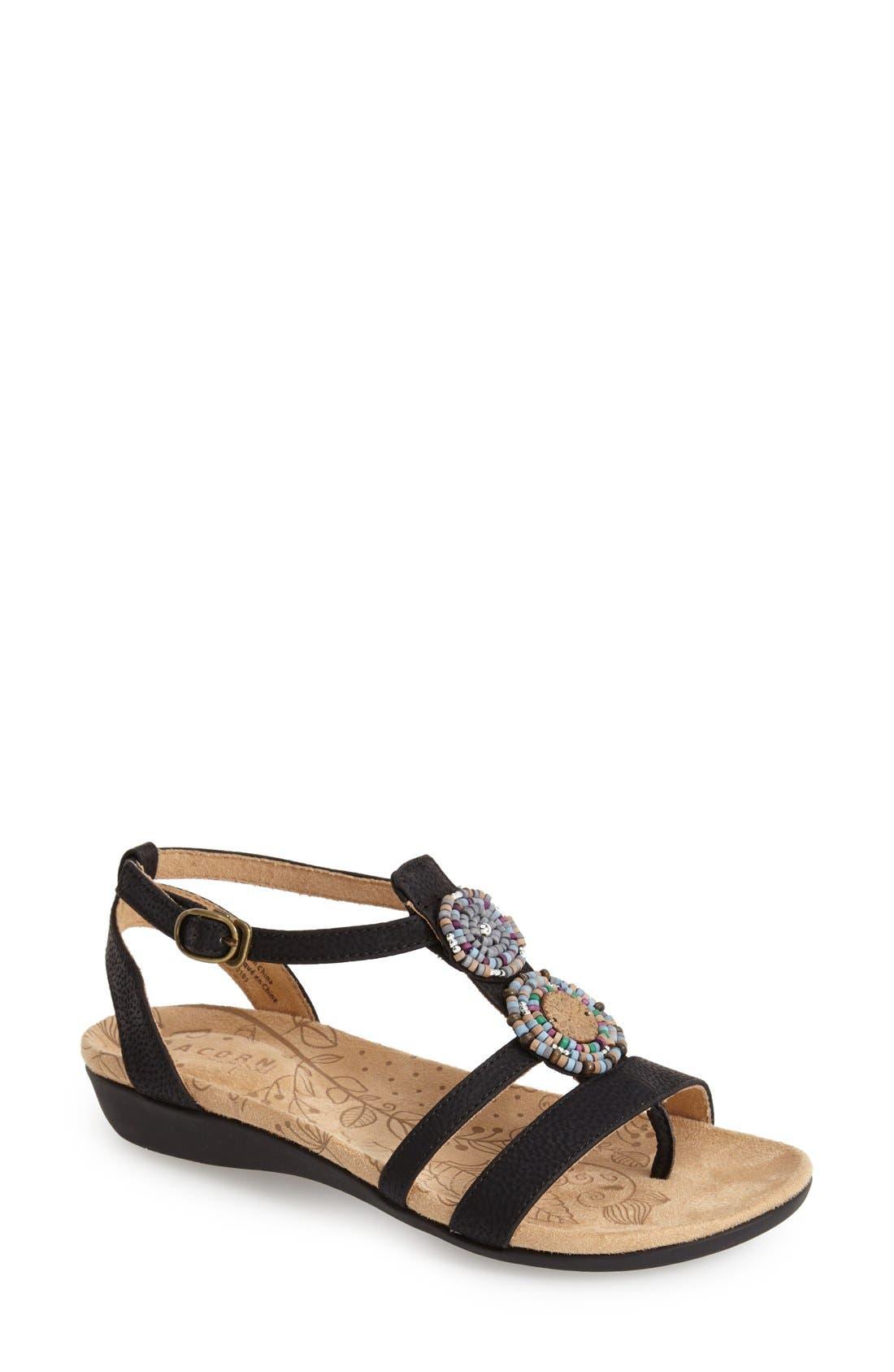 Alternate Image 1 Selected - Acorn Ankle Strap Sandal (Women)