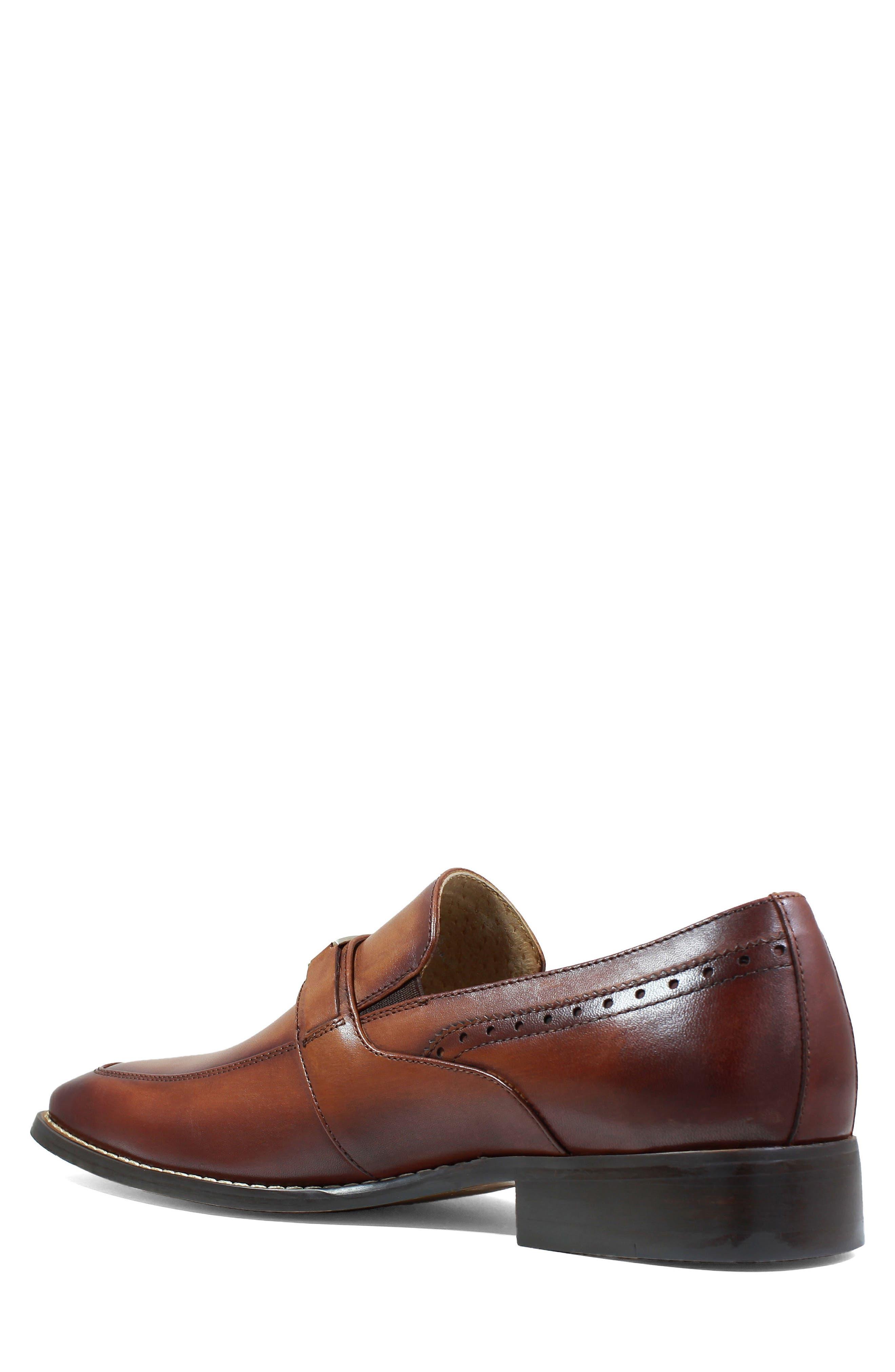 Shaw Bit Loafer,                             Alternate thumbnail 2, color,                             Cognac Leather