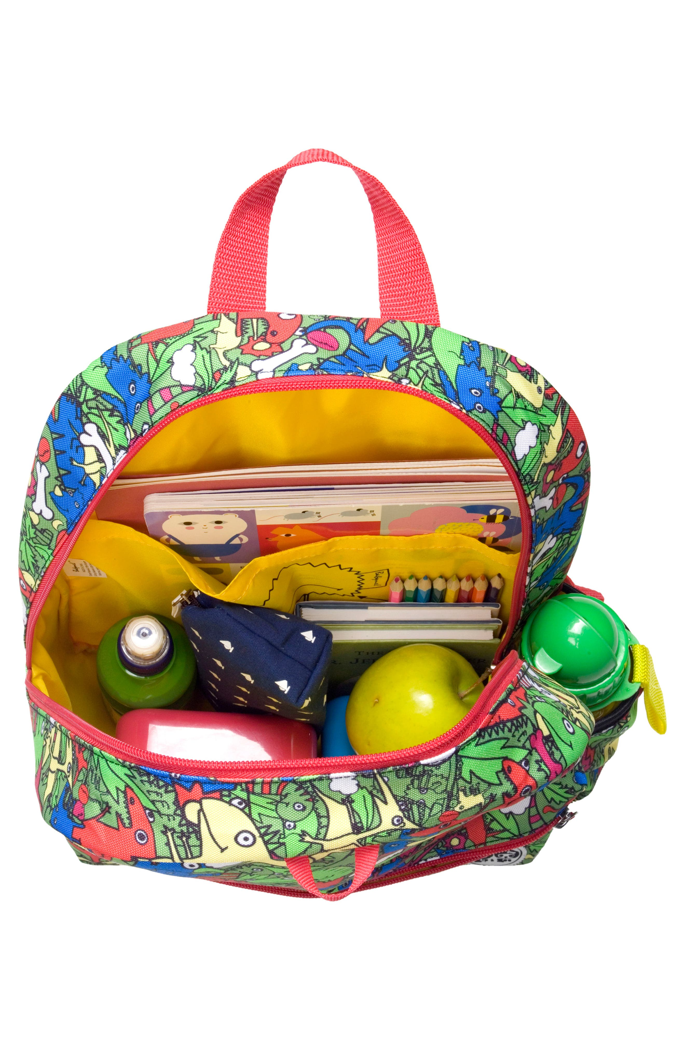 Alternate Image 2  - Babymel Zip & Zoe Dino Junior Backpack (Kids)