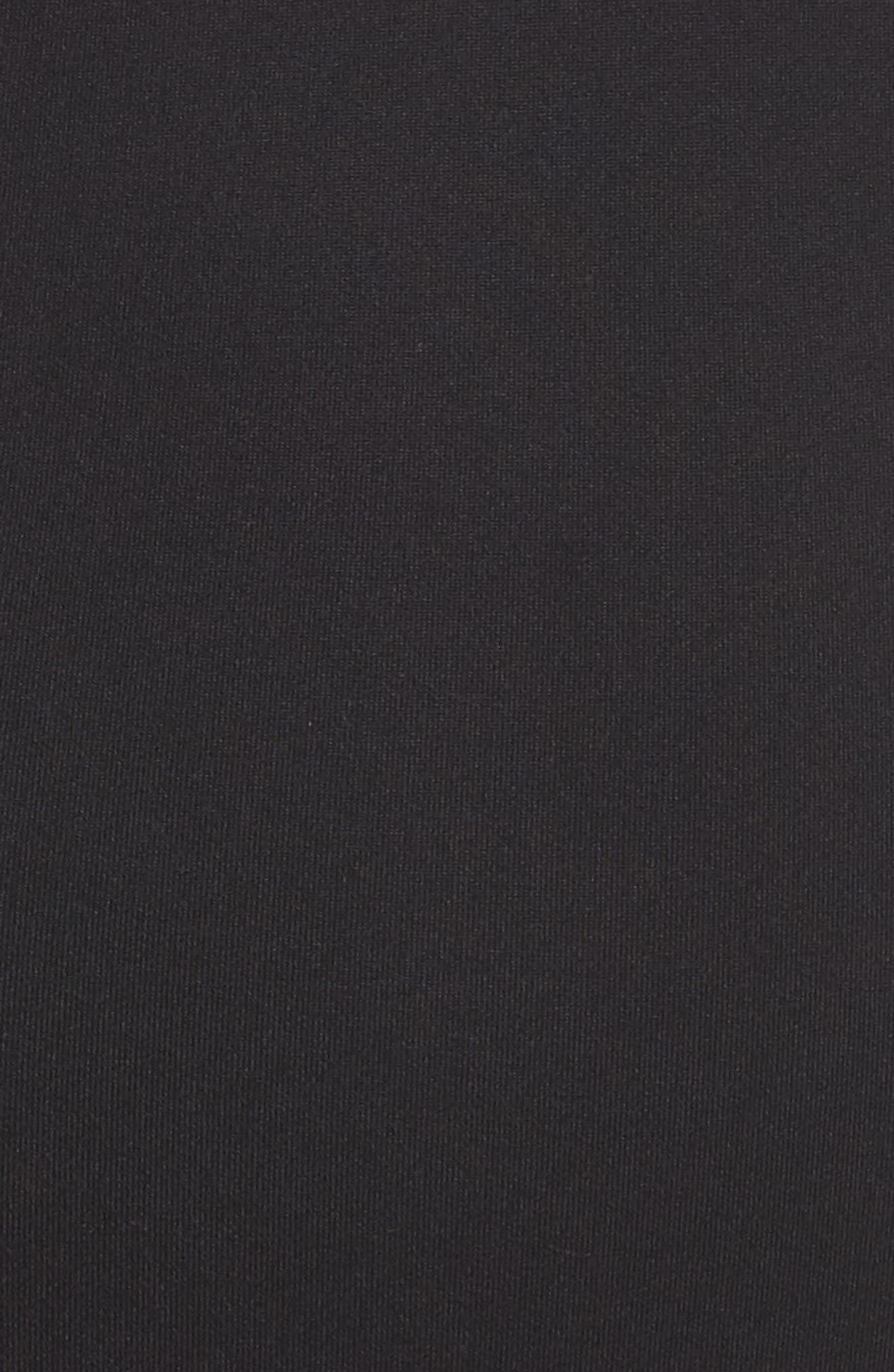 Lighten Up Crop Bodysuit,                             Alternate thumbnail 6, color,                             Black