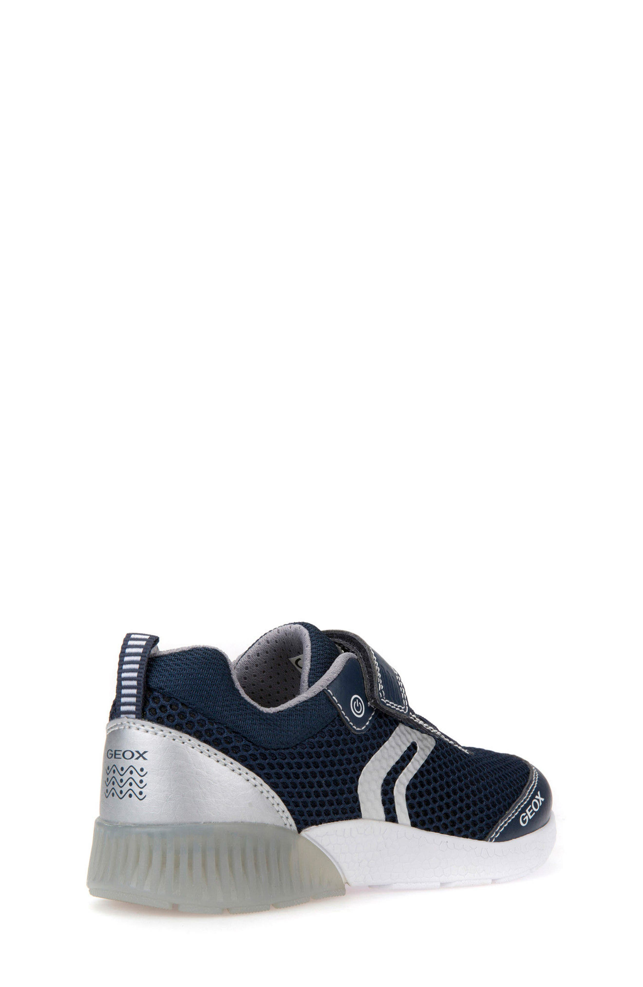 Sveth Light-Up Sneaker,                             Alternate thumbnail 2, color,                             Navy/ Silver