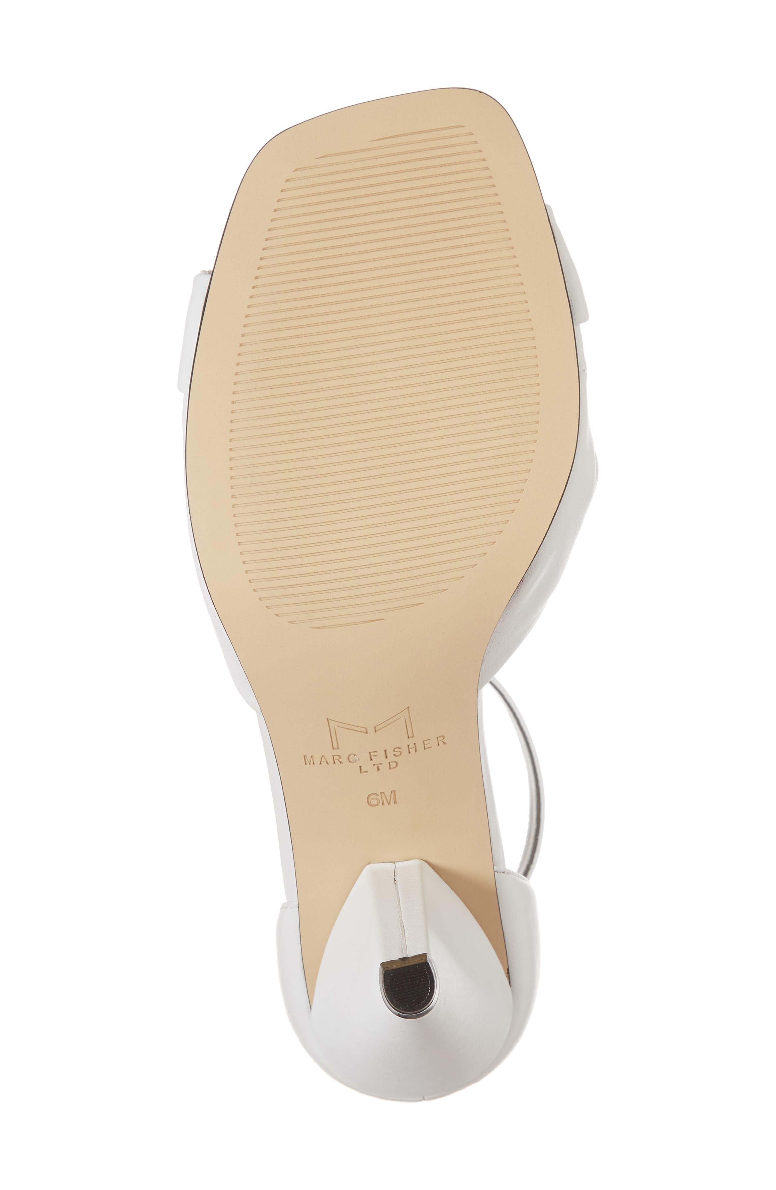 Alternate Image 6  - Marc Fisher LTD Ivory Sandal (Women)