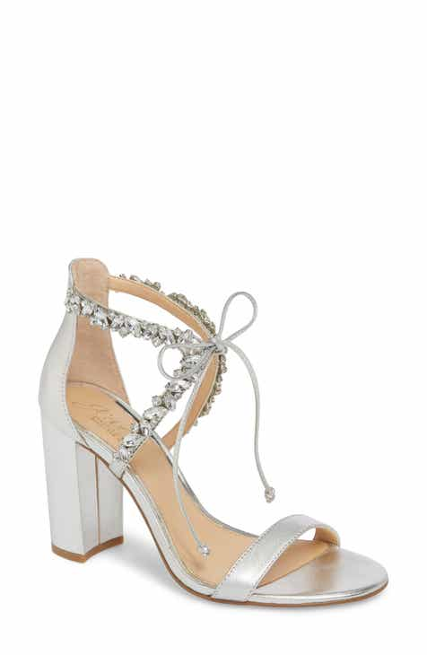 d7728a42358 Jewel Badgley Mischka Thamar Embellished Sandal (Women)