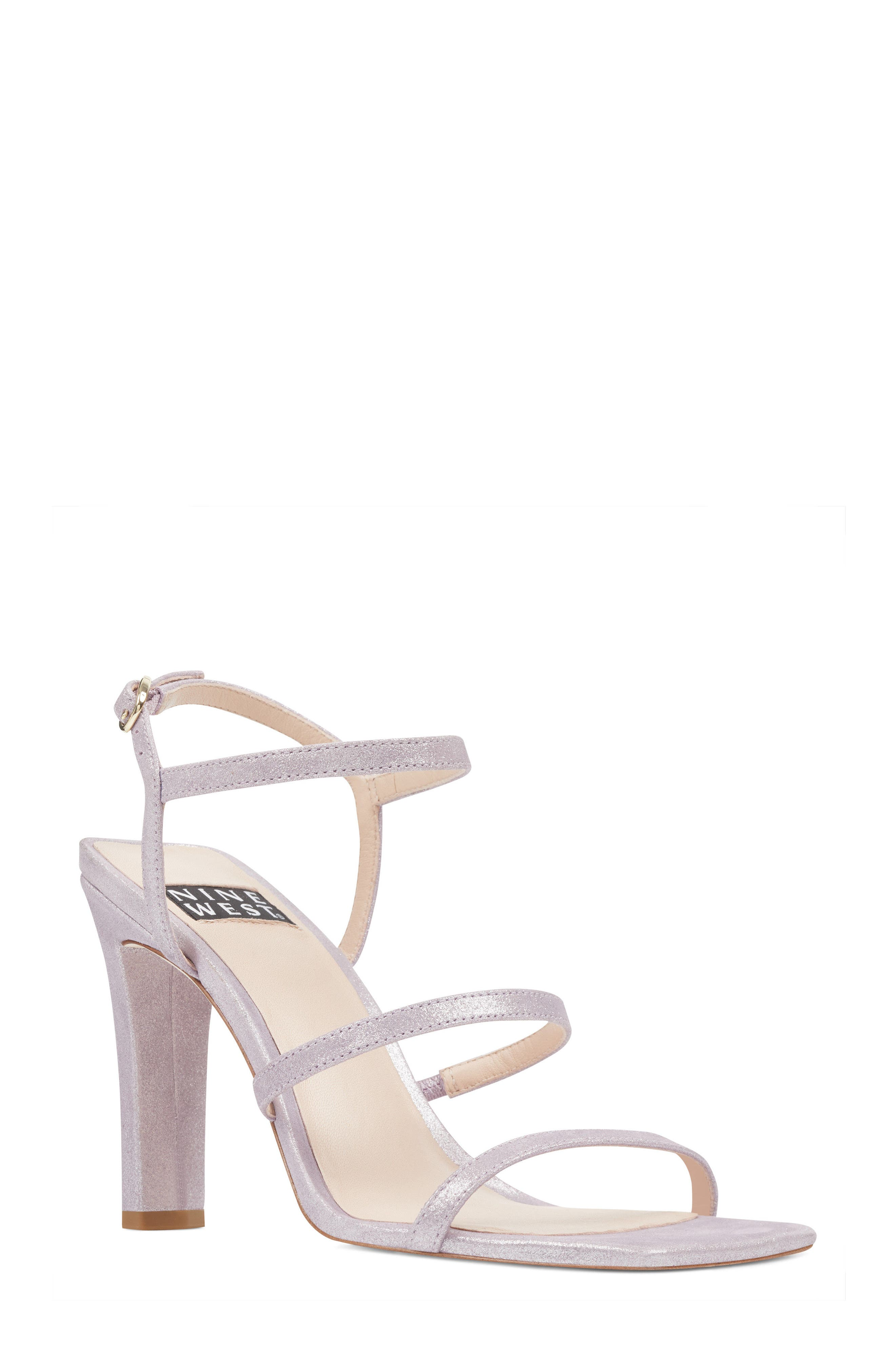 Gabelle - 40th Anniversary Capsule Collection Sandal,                         Main,                         color, Light Purple Leather