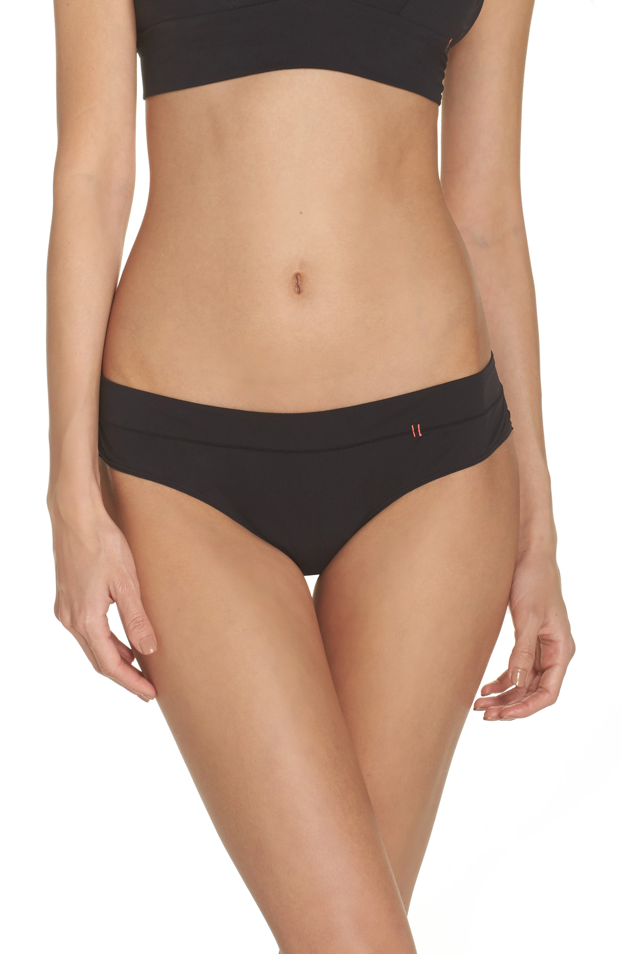 Cheeky Bikini,                             Main thumbnail 1, color,                             Black