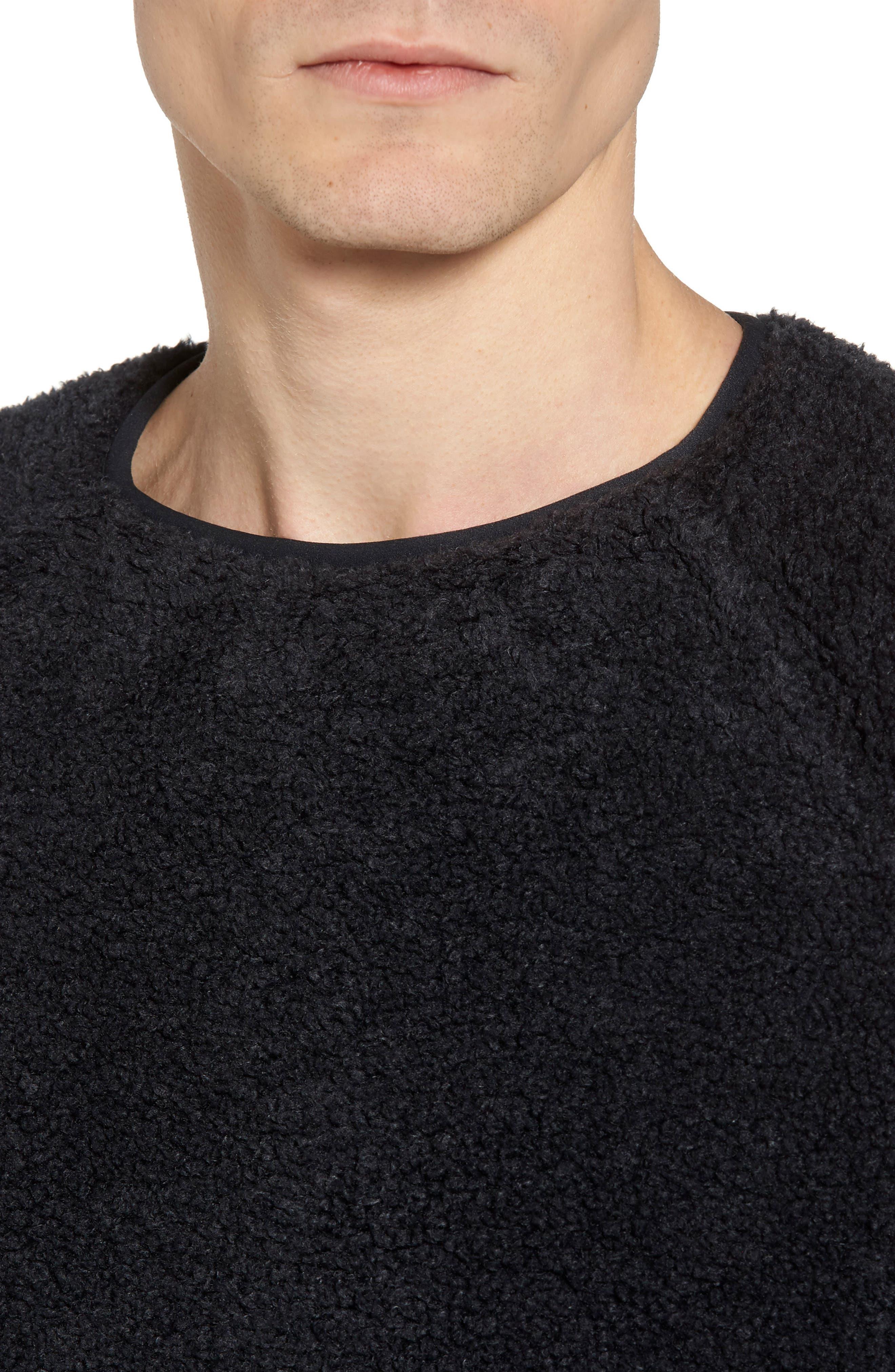Alternate Image 4  - YMC Deliverance Fleece Sweatshirt