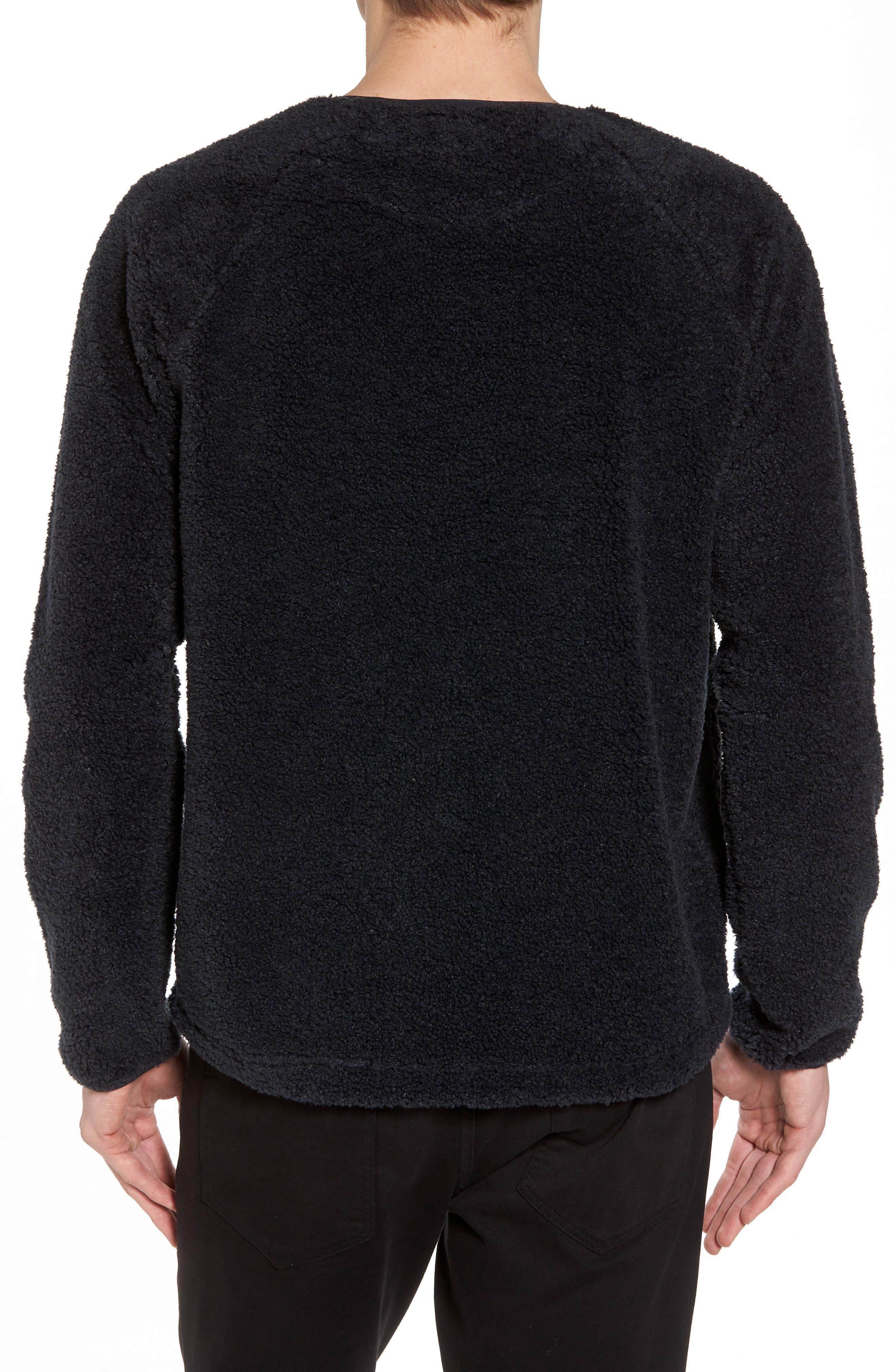 Alternate Image 2  - YMC Deliverance Fleece Sweatshirt