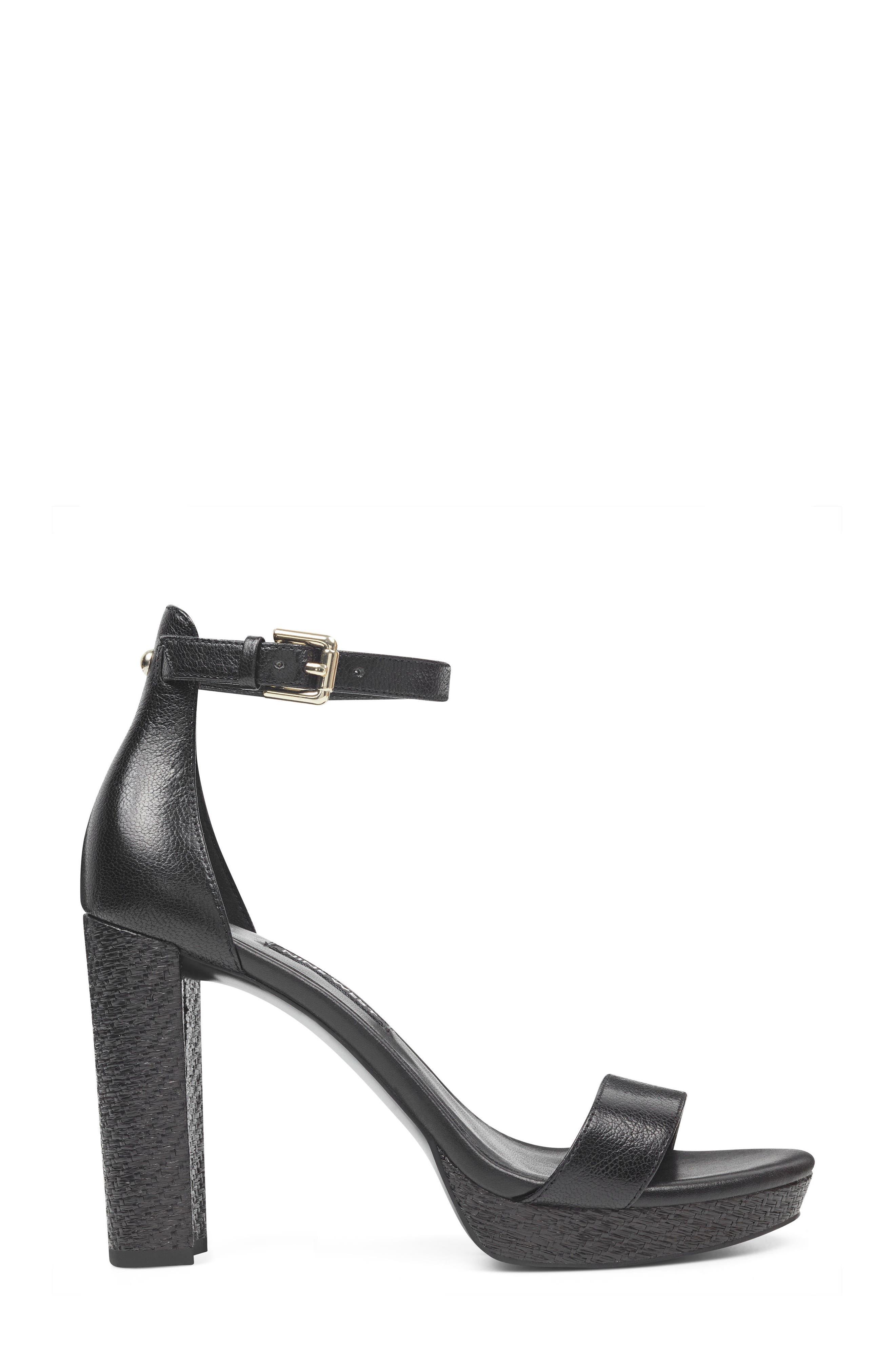Dempsey Platform Sandal,                             Alternate thumbnail 3, color,                             Black