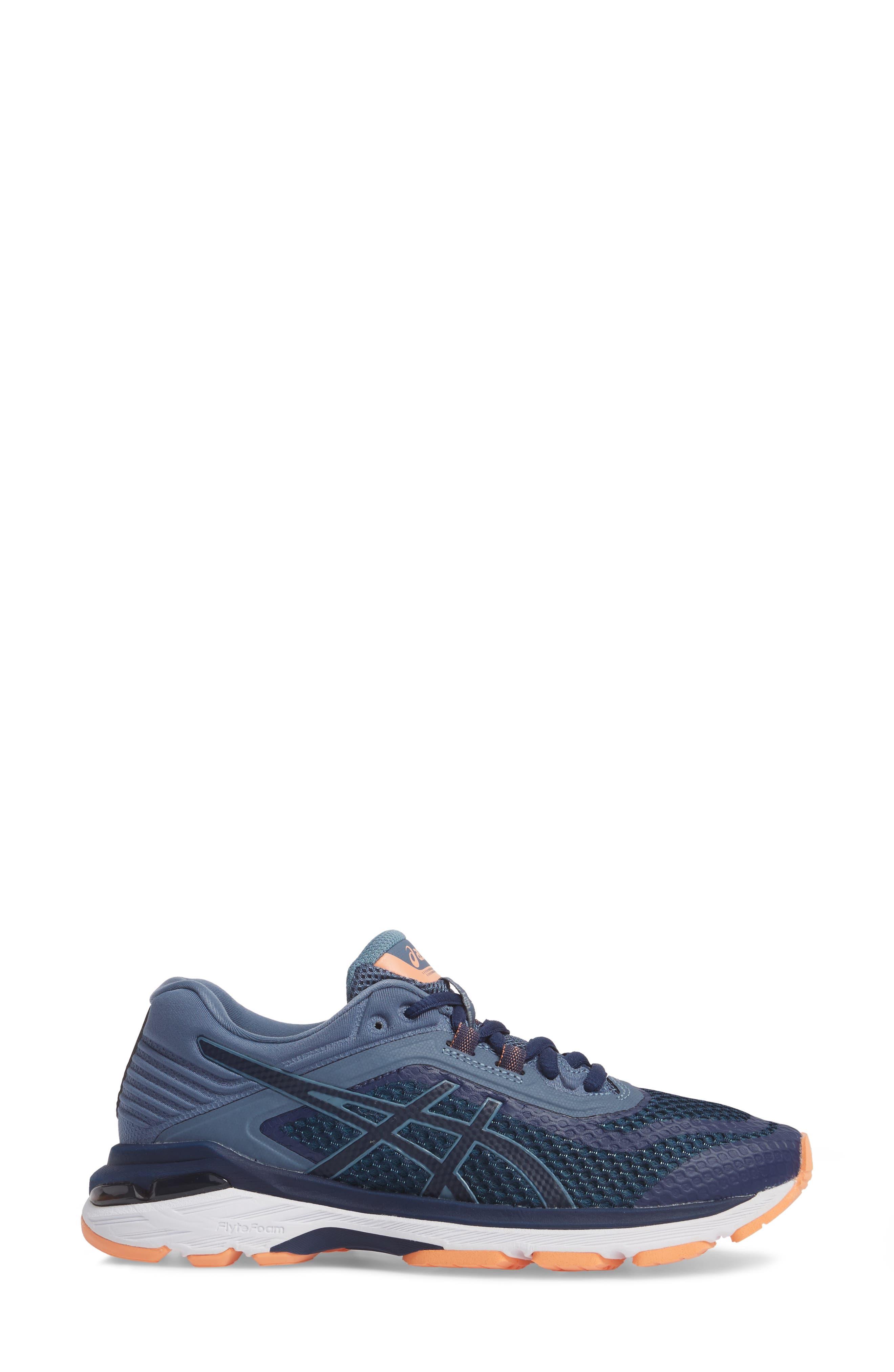 GT-2000 6 Running Shoe,                             Alternate thumbnail 3, color,                             Indigo Blue/ Smoke Blue