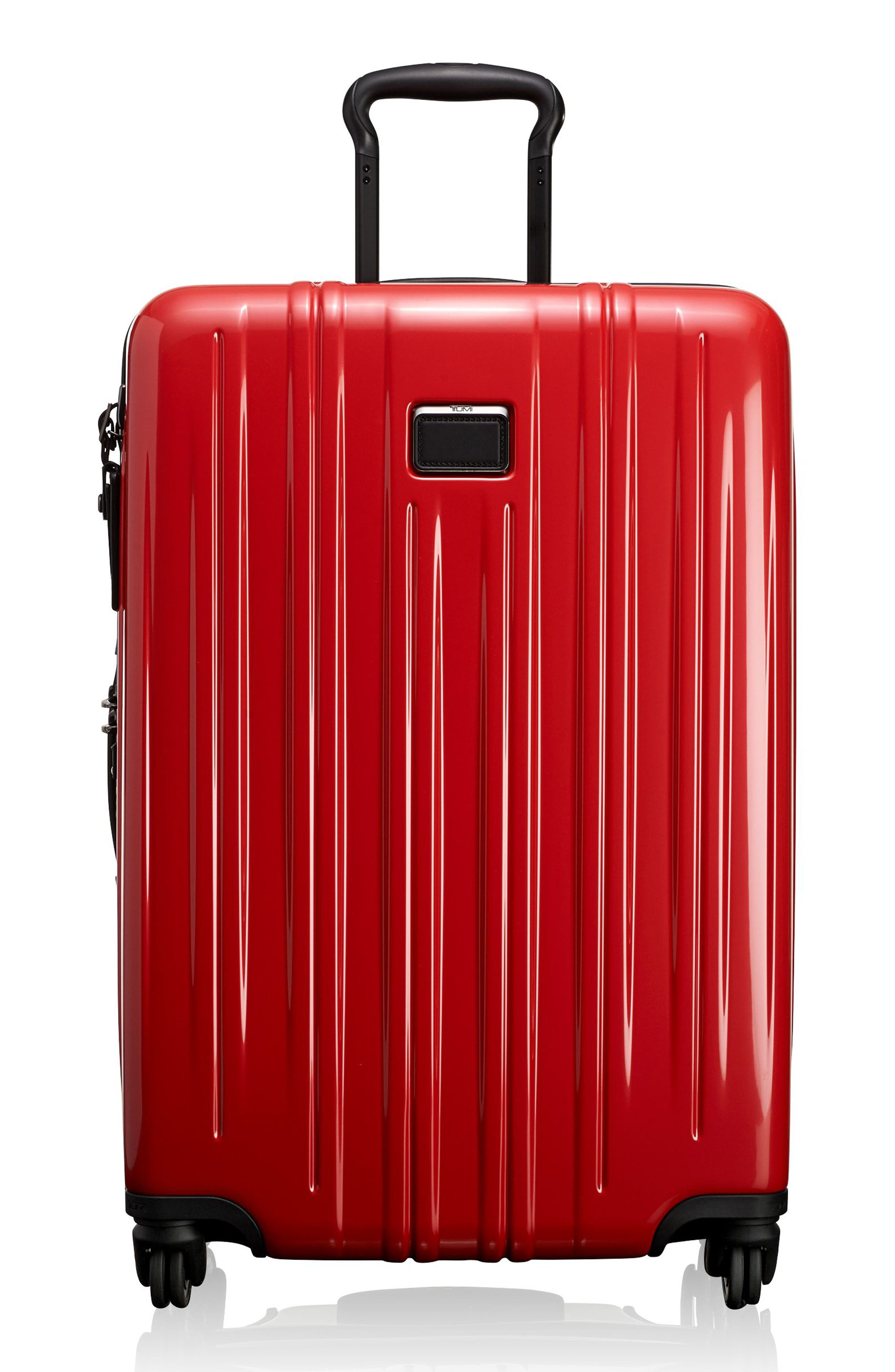 V3 Short Trip 26-Inch Expandable Wheeled Packing Case,                         Main,                         color, Hot Pink