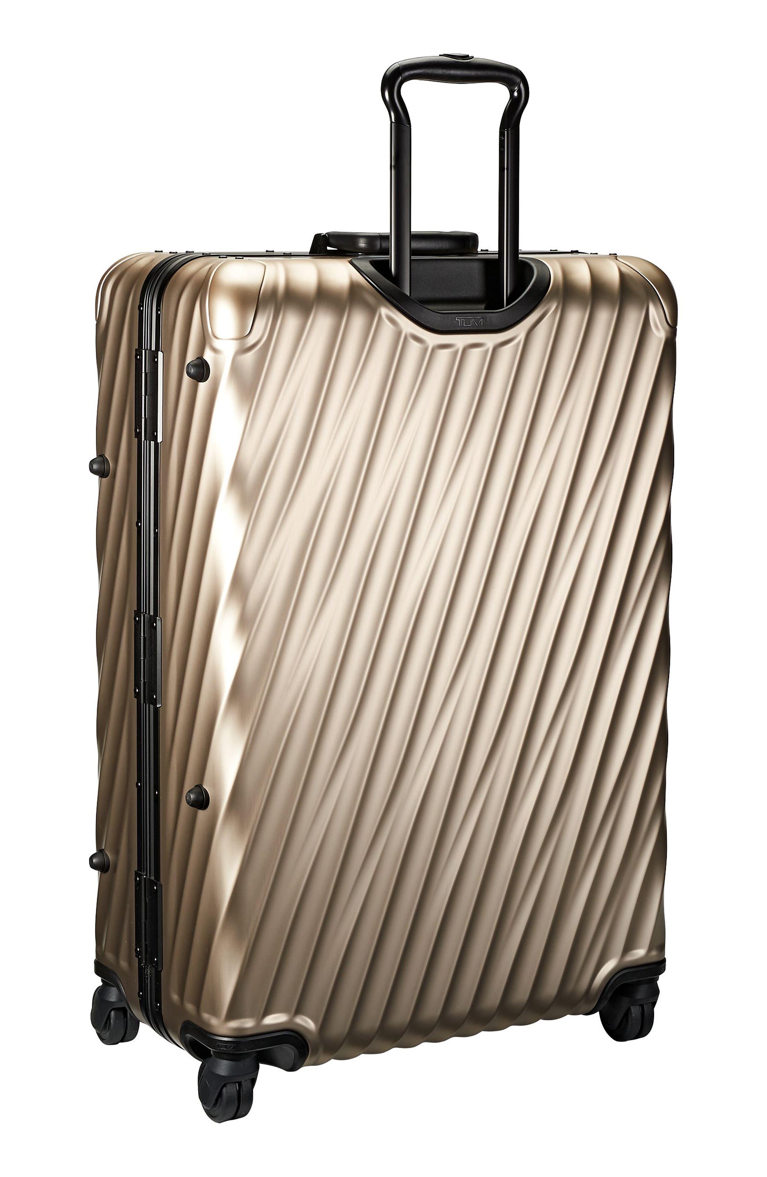 19-Degree 30-Inch Aluminum Spinner Packing Case,                             Alternate thumbnail 3, color,                             Ivory Gold